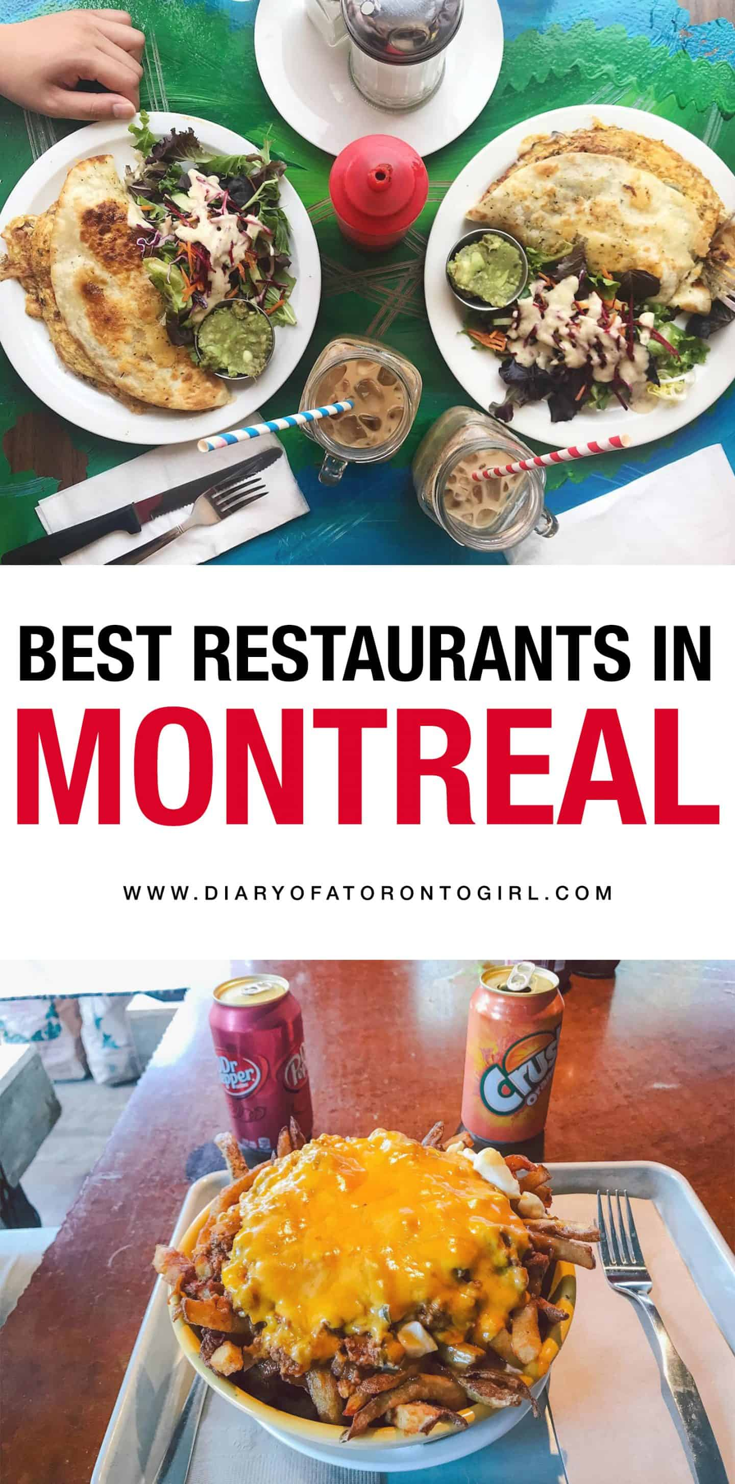 Montreal is filled with amazing brunch spots, delicious ice cream places, and incredible restaurants. Here's where to eat and drink in Montreal, Quebec!