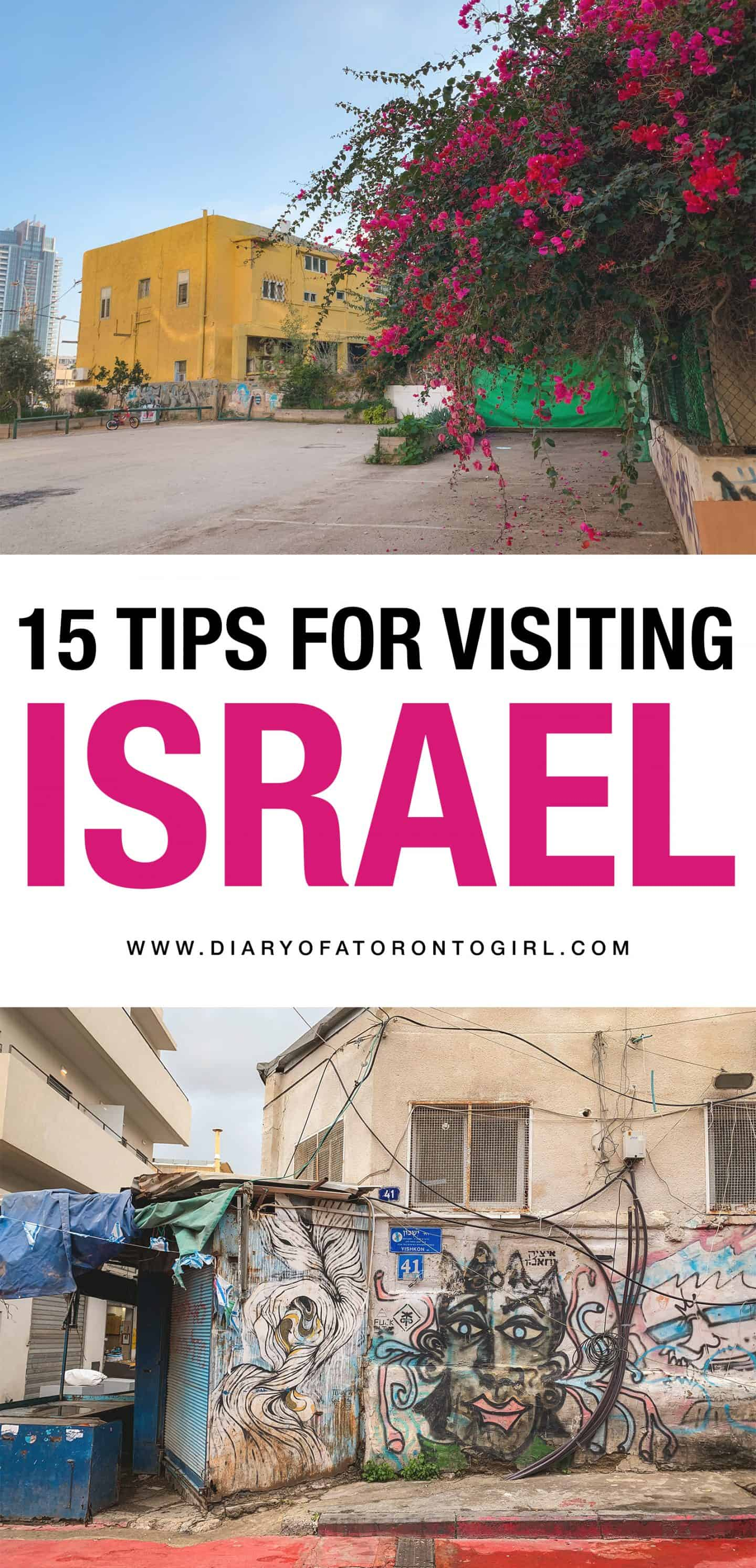Helpful tips on visiting Tel Aviv, Israel, including what to wear and things you need to know!