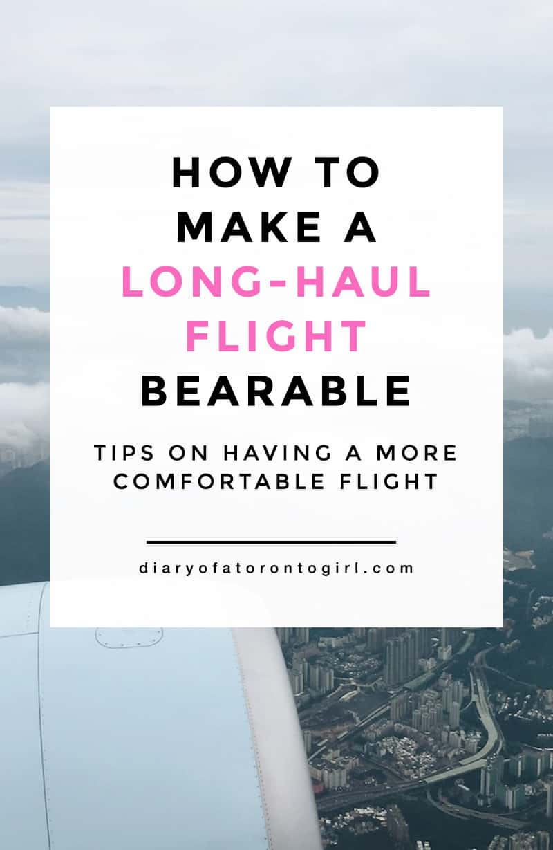 Flying economy isn't fun to to begin with, but here are some tips and tricks for making long-haul flights more comfortable and bearable!