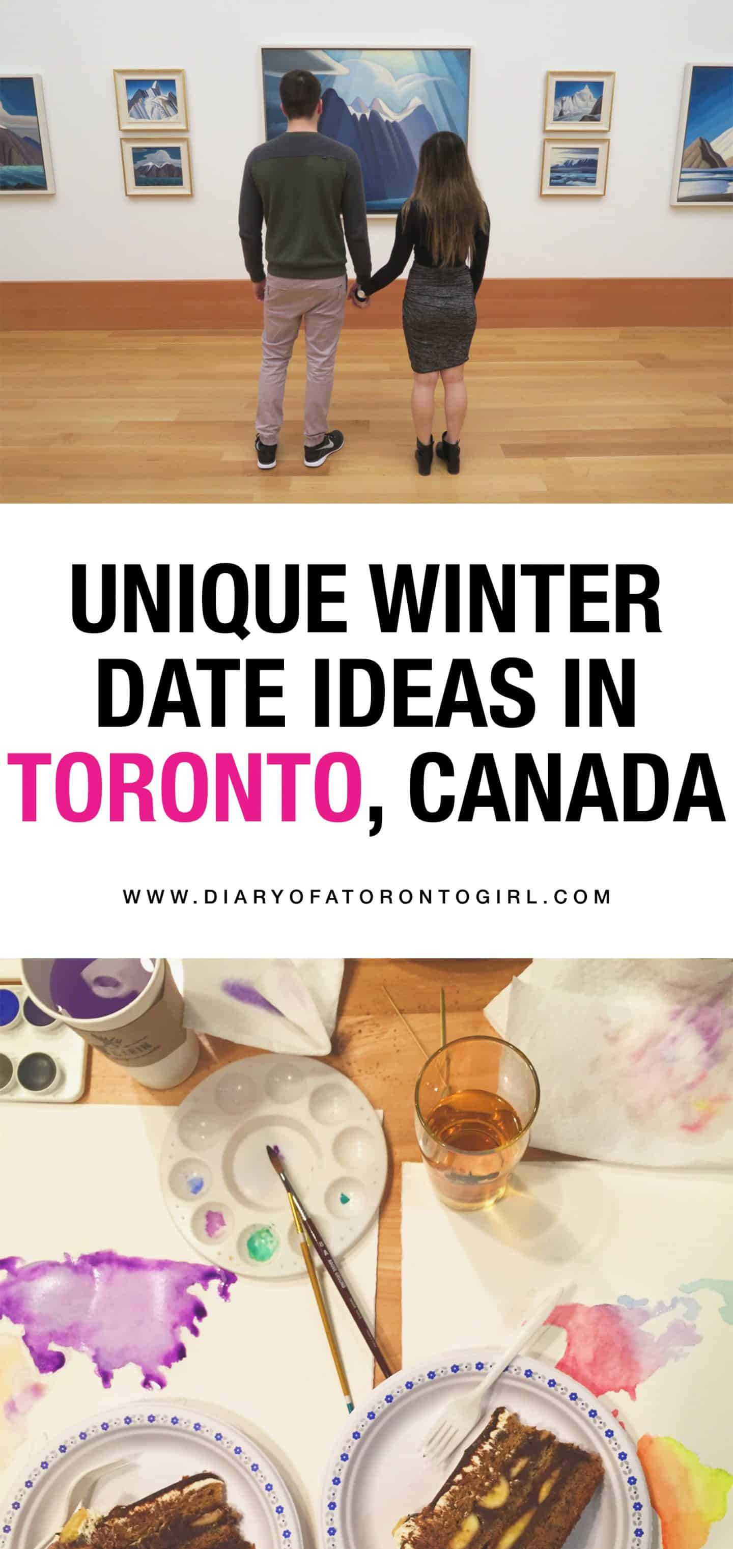 Cute, fun, and unique winter date ideas to go on in Toronto, Canada! The cold doesn't mean you have to stay in all the time.
