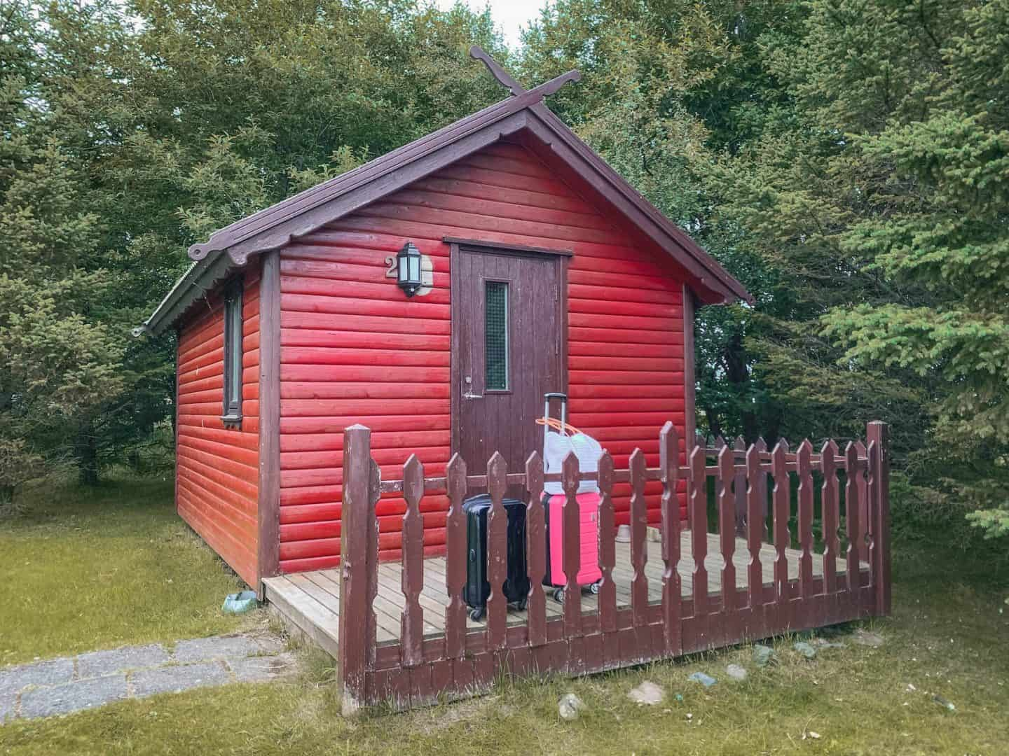 A tiny cabin in Iceland listed on Airbnb