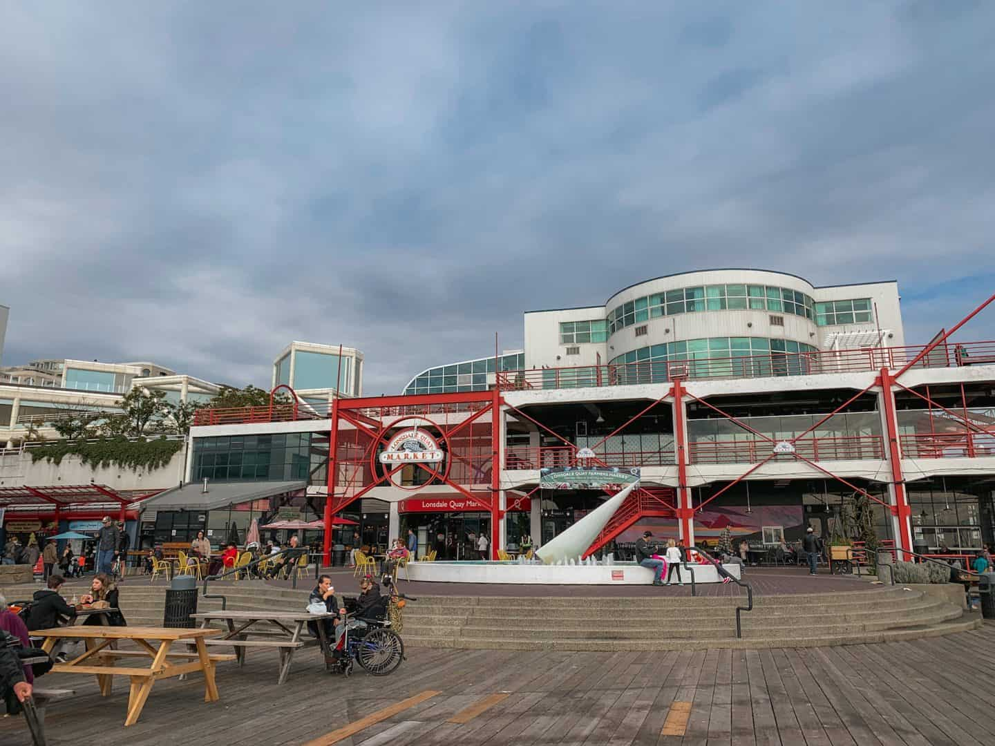 Lonsdale Quay Market in Vancouver