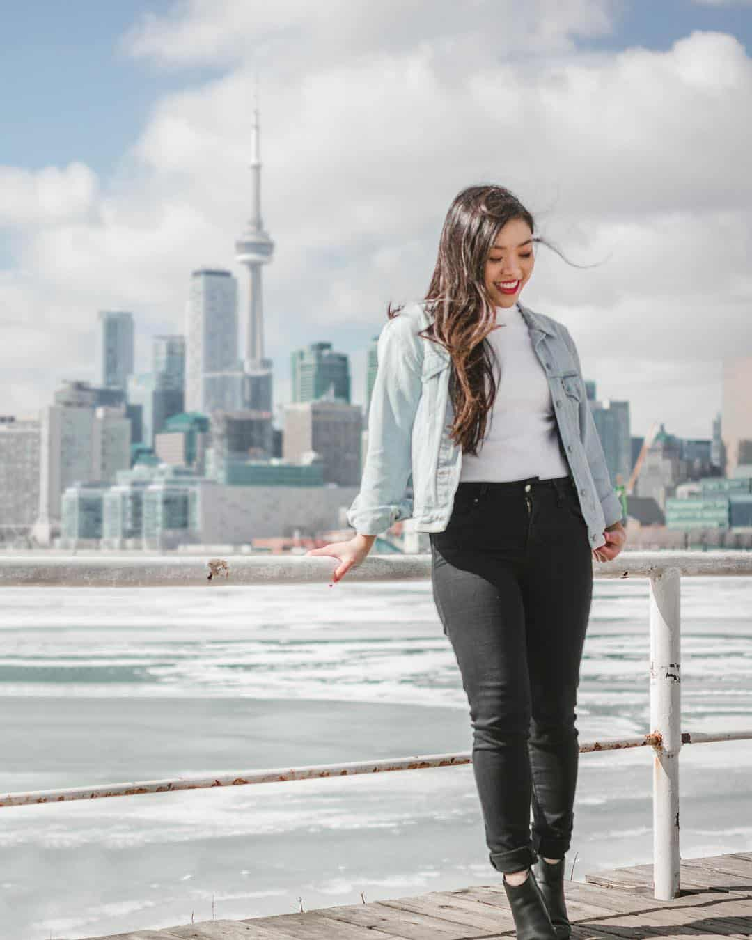Polson Pier in Toronto, Canada