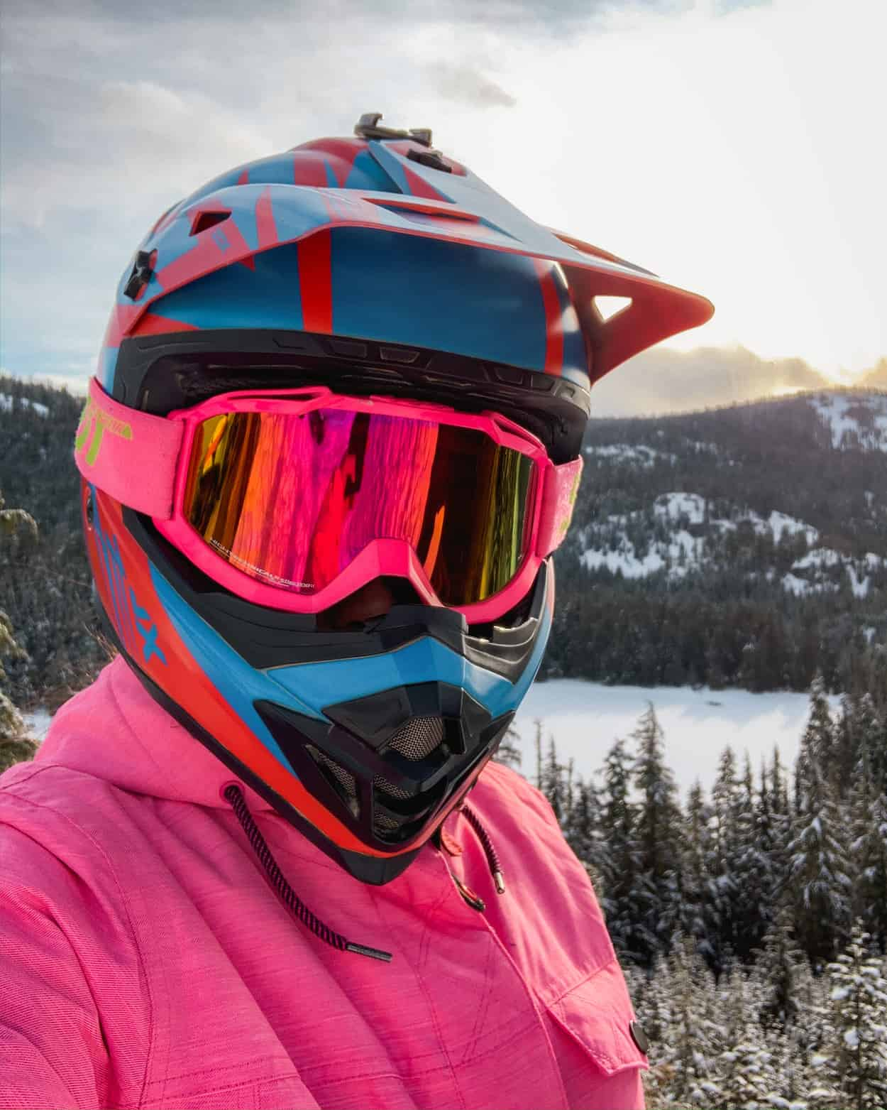 A selfie in Whistler, British Columbia