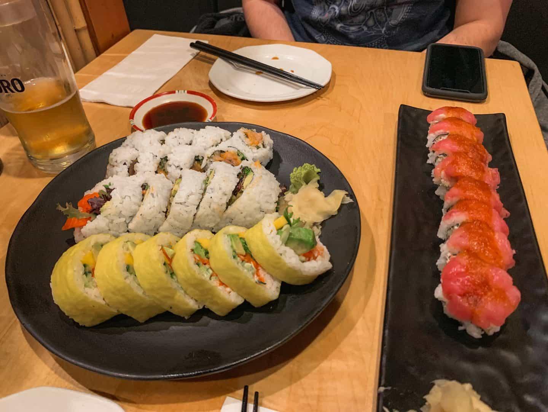 Sushi Sen Japanese Restaurant in Squamish, British Columbia