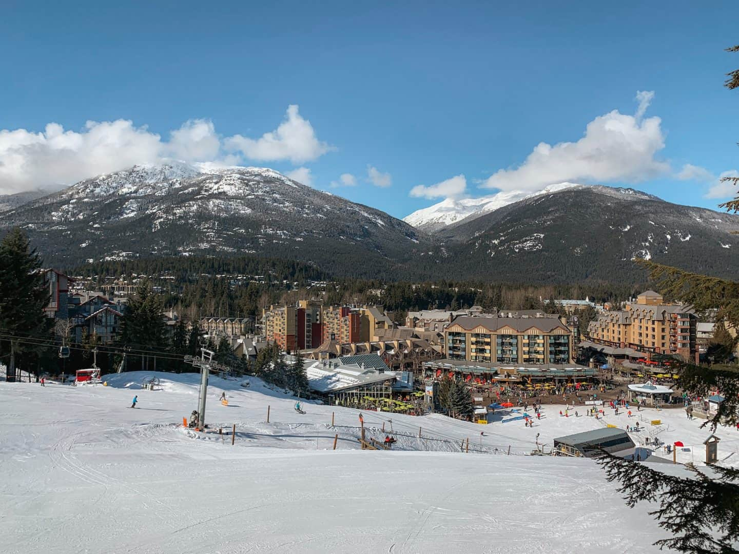 Ski at the Whistler Blackcomb in Whistler, British Columbia!