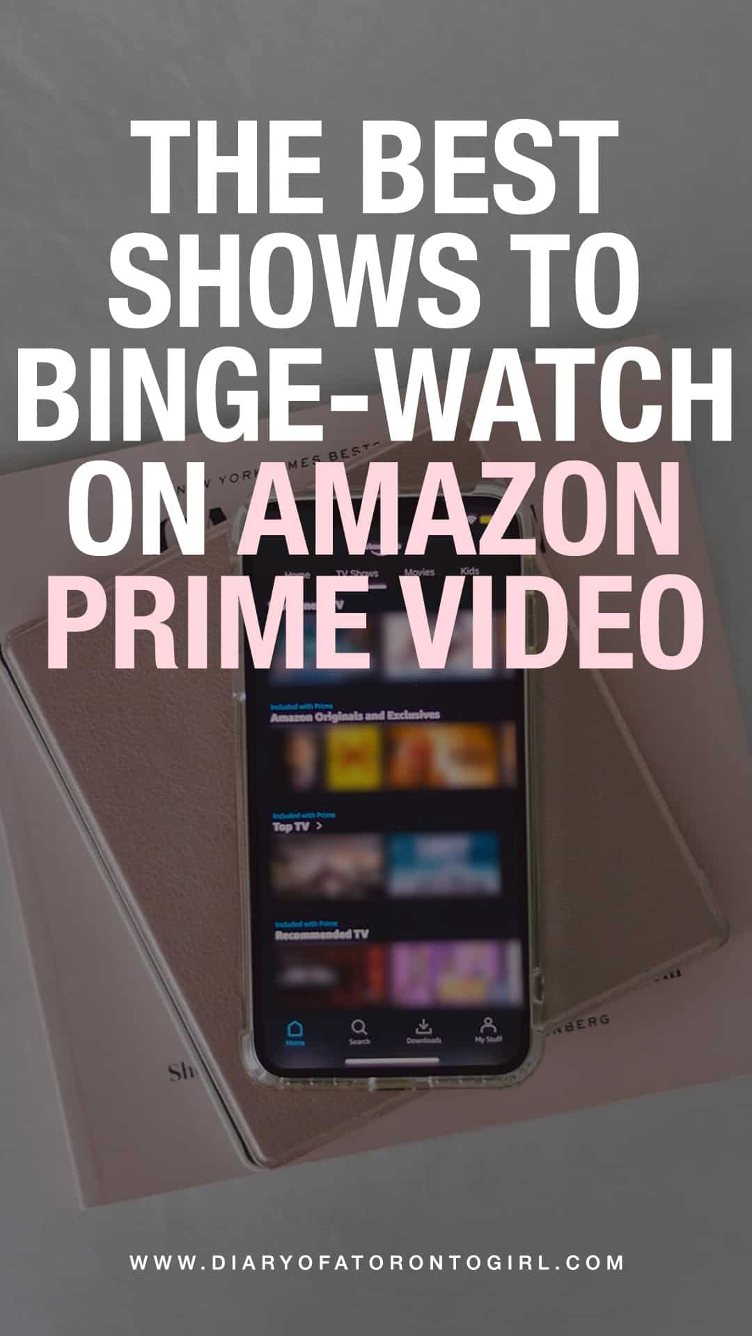 Looking for a great new show to binge-watch? Here are some of the best television series and shows to watch on Amazon Prime Video in Canada!