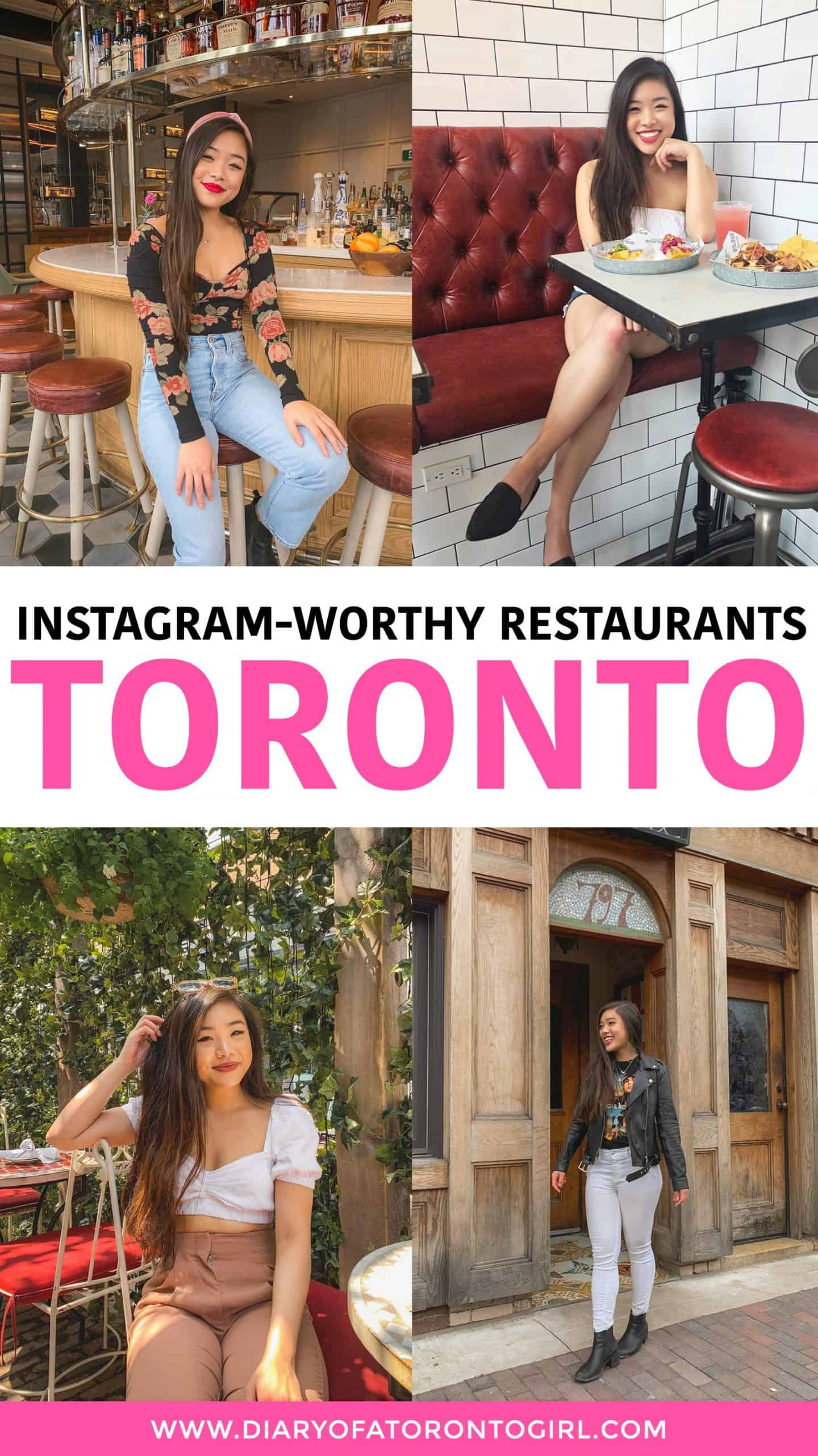Paying a visit to Toronto and looking for some cool Instagram-worthy spots? Here are some of the most Instagrammable and aesthetically-pleasing restaurants to visit in Toronto, Canada!