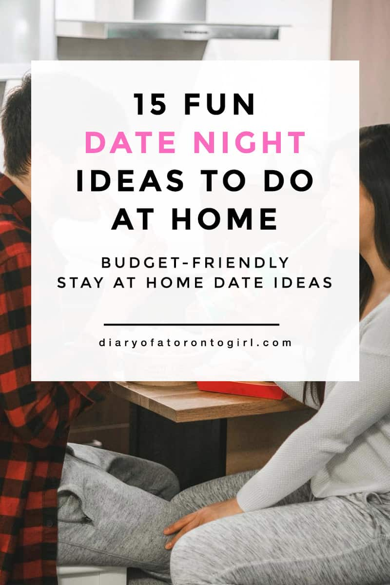 Looking for some fun and budget-friendly date night ideas at home? Here are some stay-at-home date activities to do with our significant other!