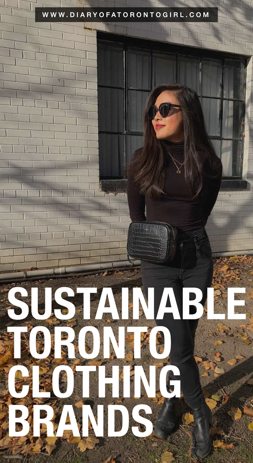 Sustainable and ethical Toronto clothing brands to shop from, if you're looking to support local Canadian fashion companies!