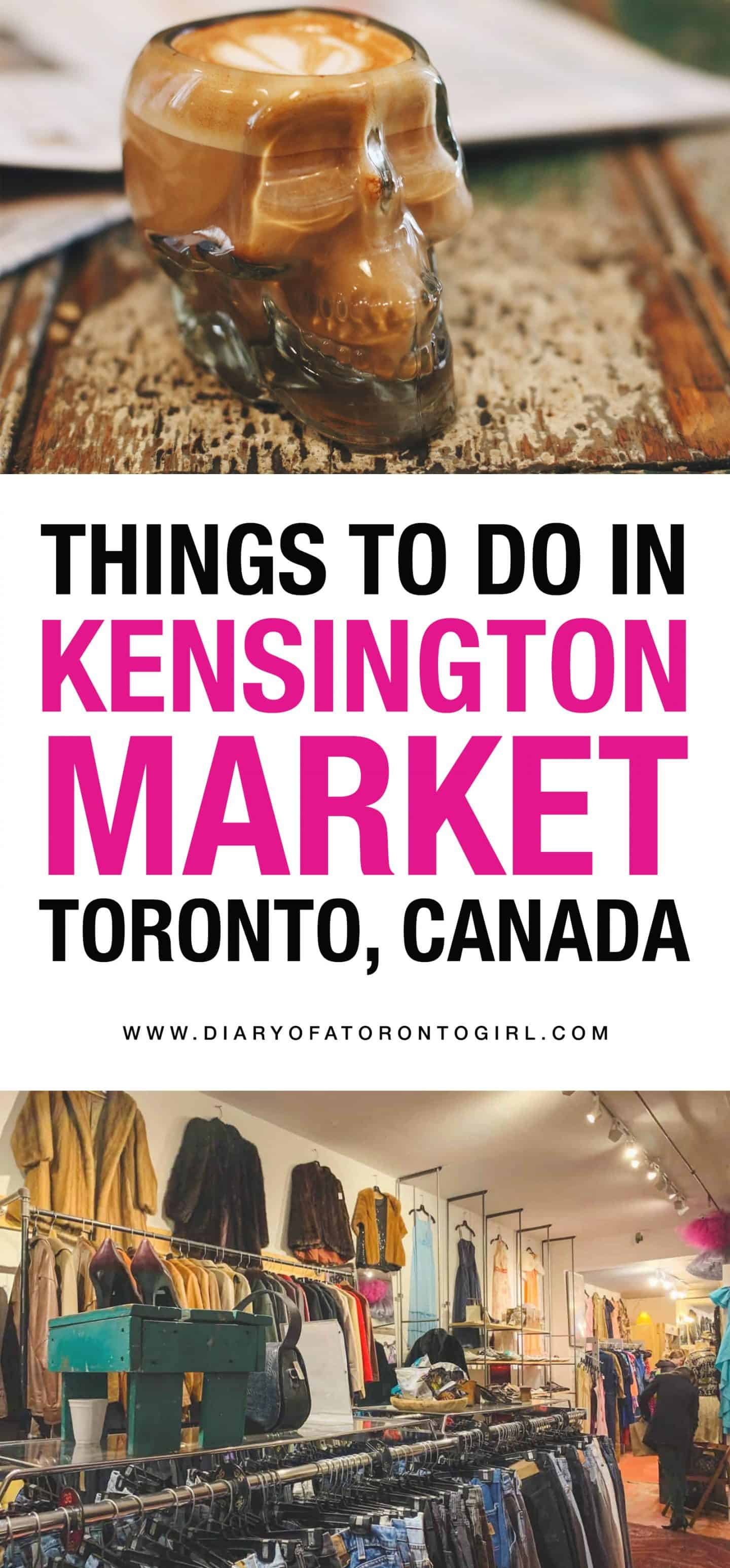 Looking for fun things to do in Kensington Market in Toronto? Here's how to spend the perfect day exploring this quirky Toronto neighbourhood!