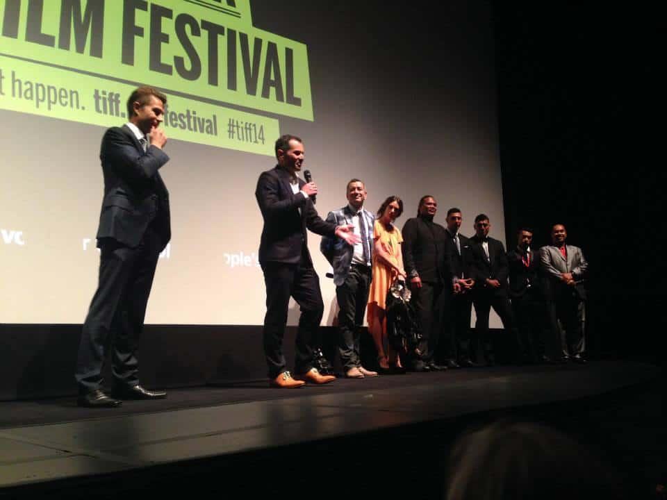 Deadlands cast at TIFF in Toronto
