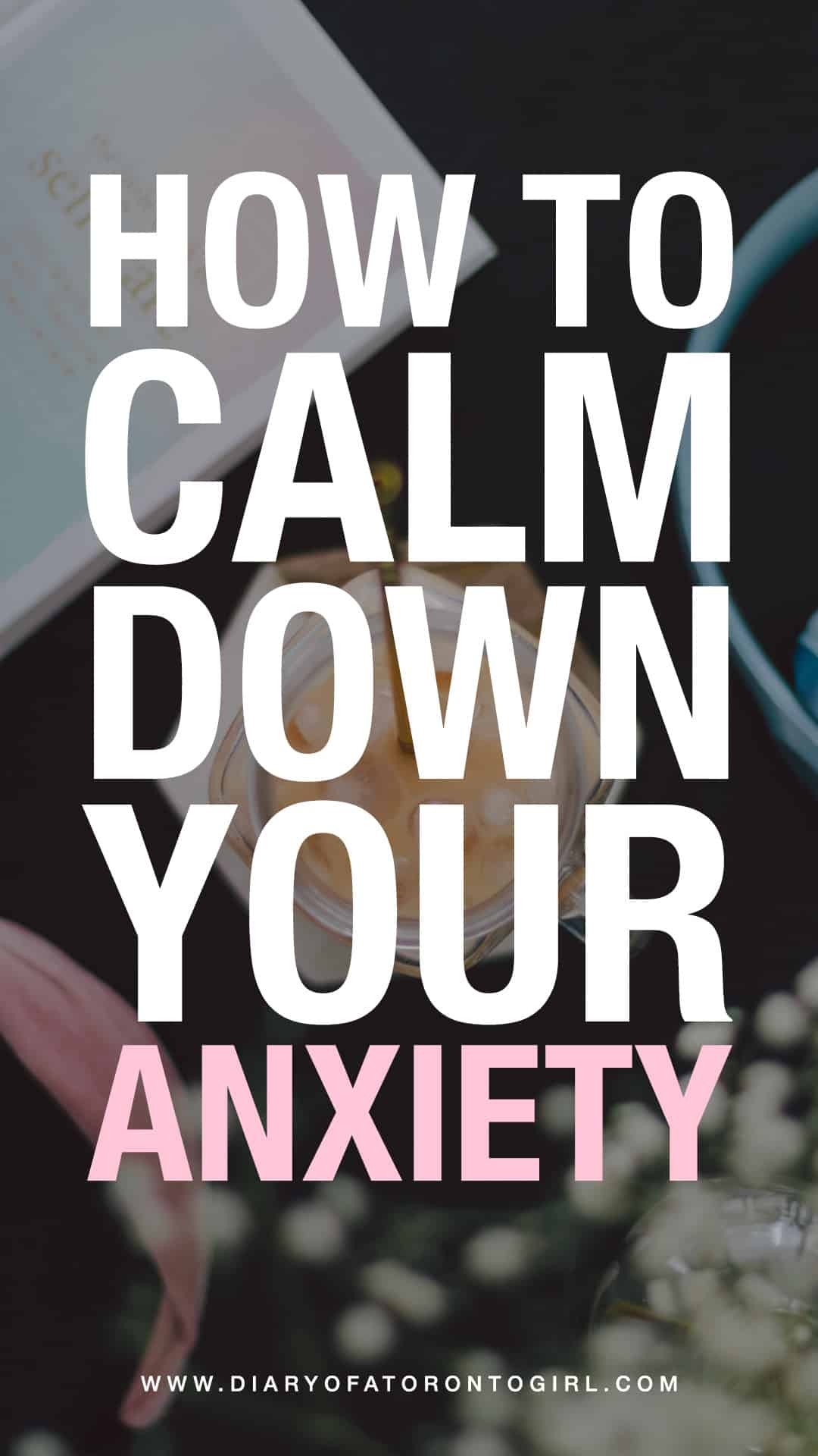 Feeling a little bit anxious? Here are some useful tips on how to help you calm your anxiety down and prevent panic attacks.