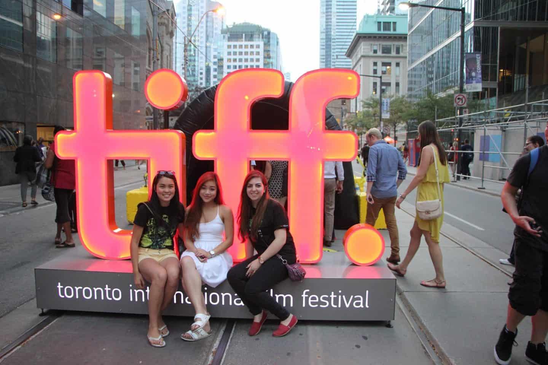 TIFF Festival Street in Toronto