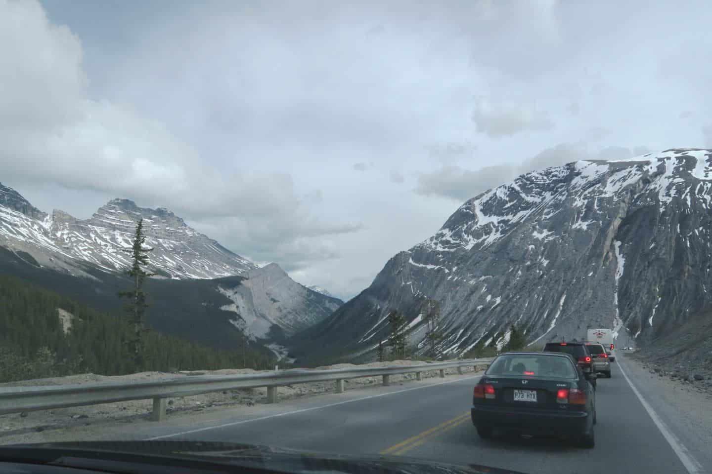 Road trip in Banff, Alberta
