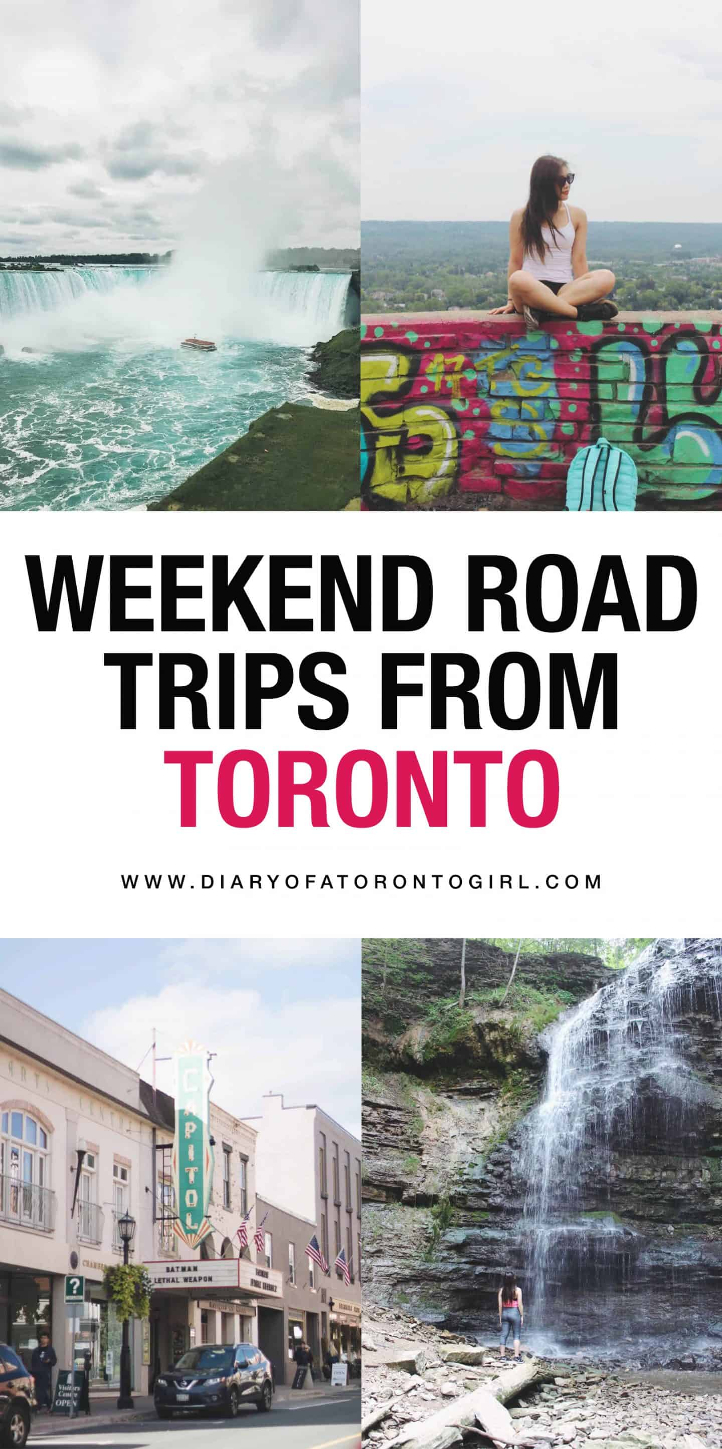 Weekend road trips from Toronto to go on this summer, whether you're looking to do a last minute getaway or plan an extravagant escape!