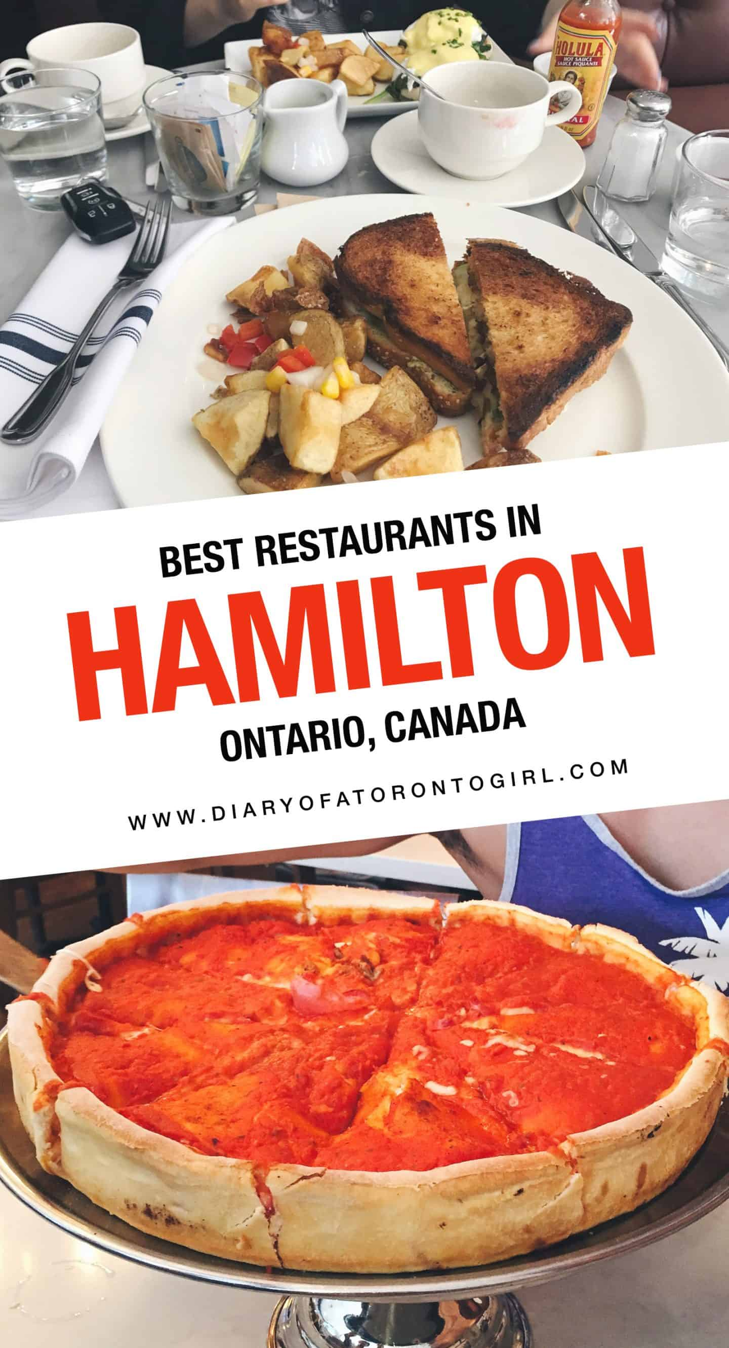 Looking for the best restaurants to eat at in Hamilton? Here are some of the top food spots to visit in Hamilton, Ontario!