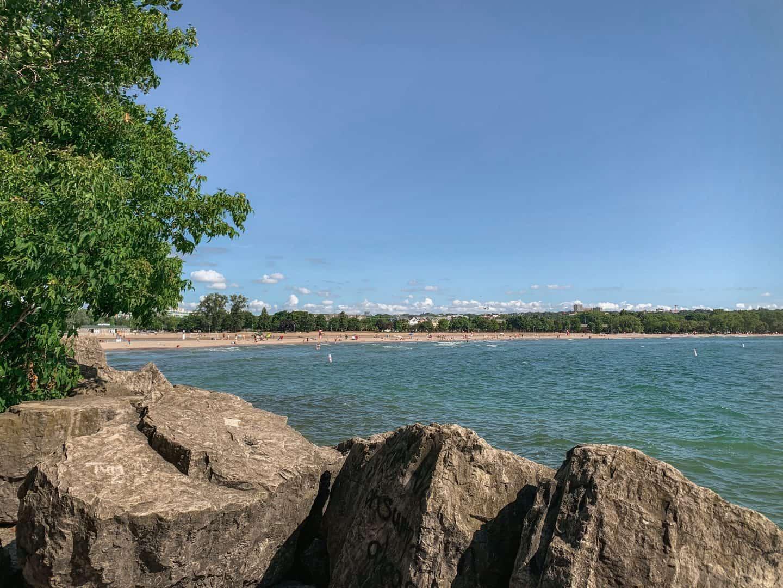 Woodbine Beach in Toronto, Ontario
