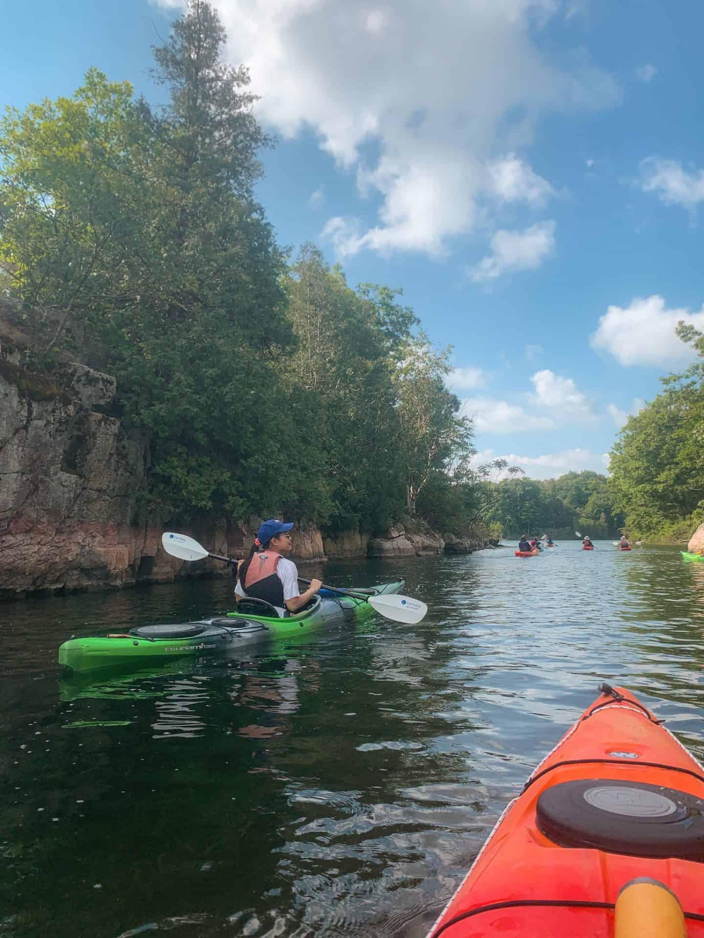 1000 Islands Kayaking in Gananoque, Ontario