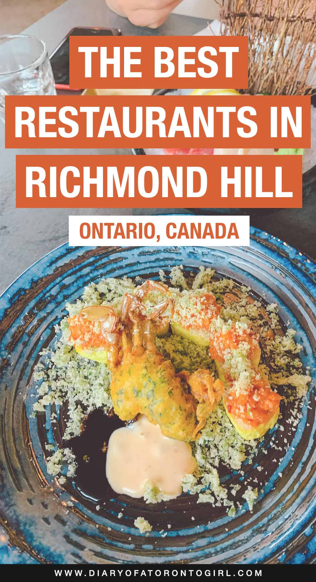 The best Richmond Hill restaurants to eat at, from upscale oshi sushi to authentic Vietnamese dishes! Here's where to eat in Richmond Hill, Ontario.