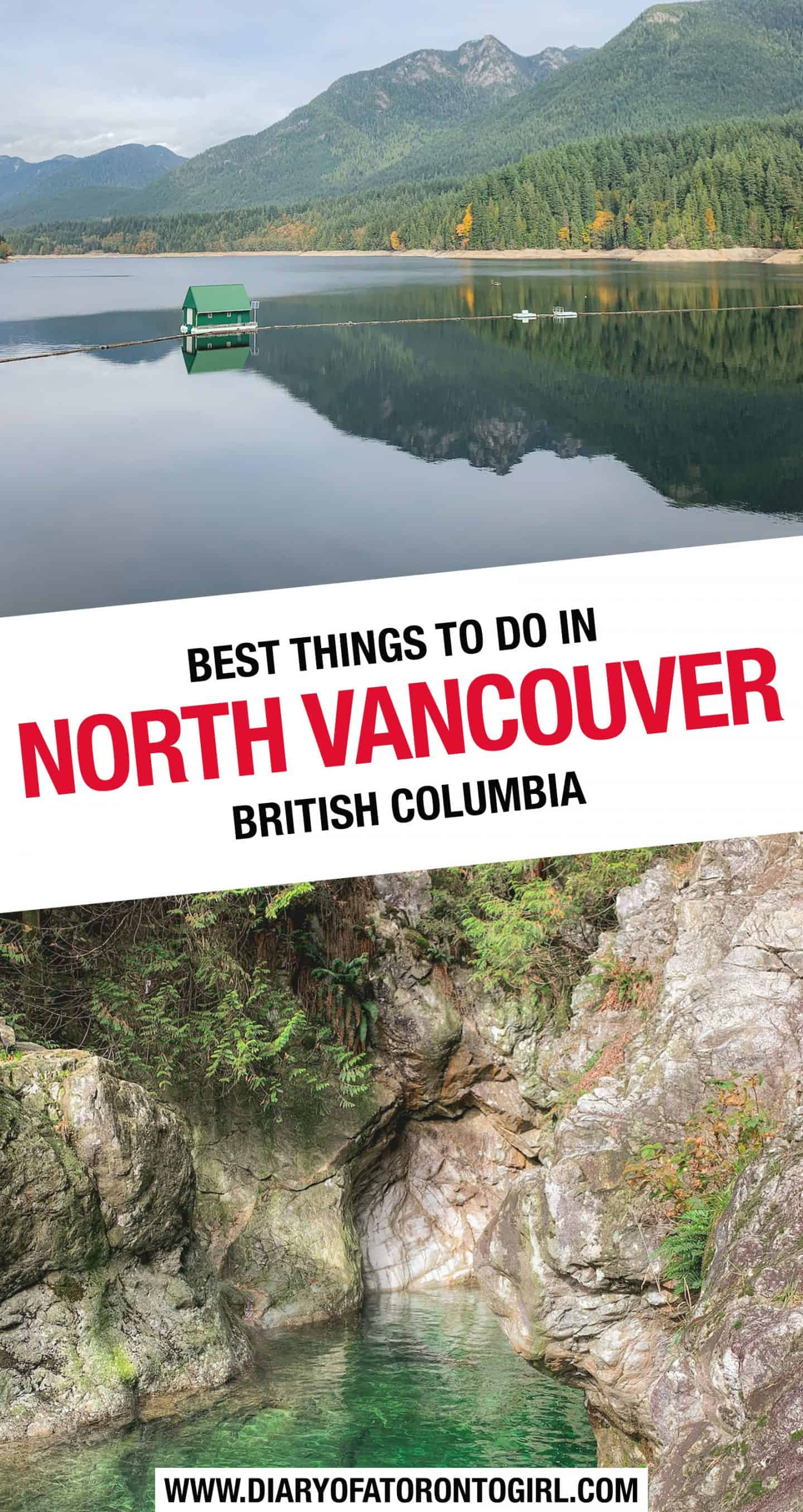 The best and most fun things to do in North Vancouver, British Columbia, including the perfect one day itinerary for exploring the neighbourhood!