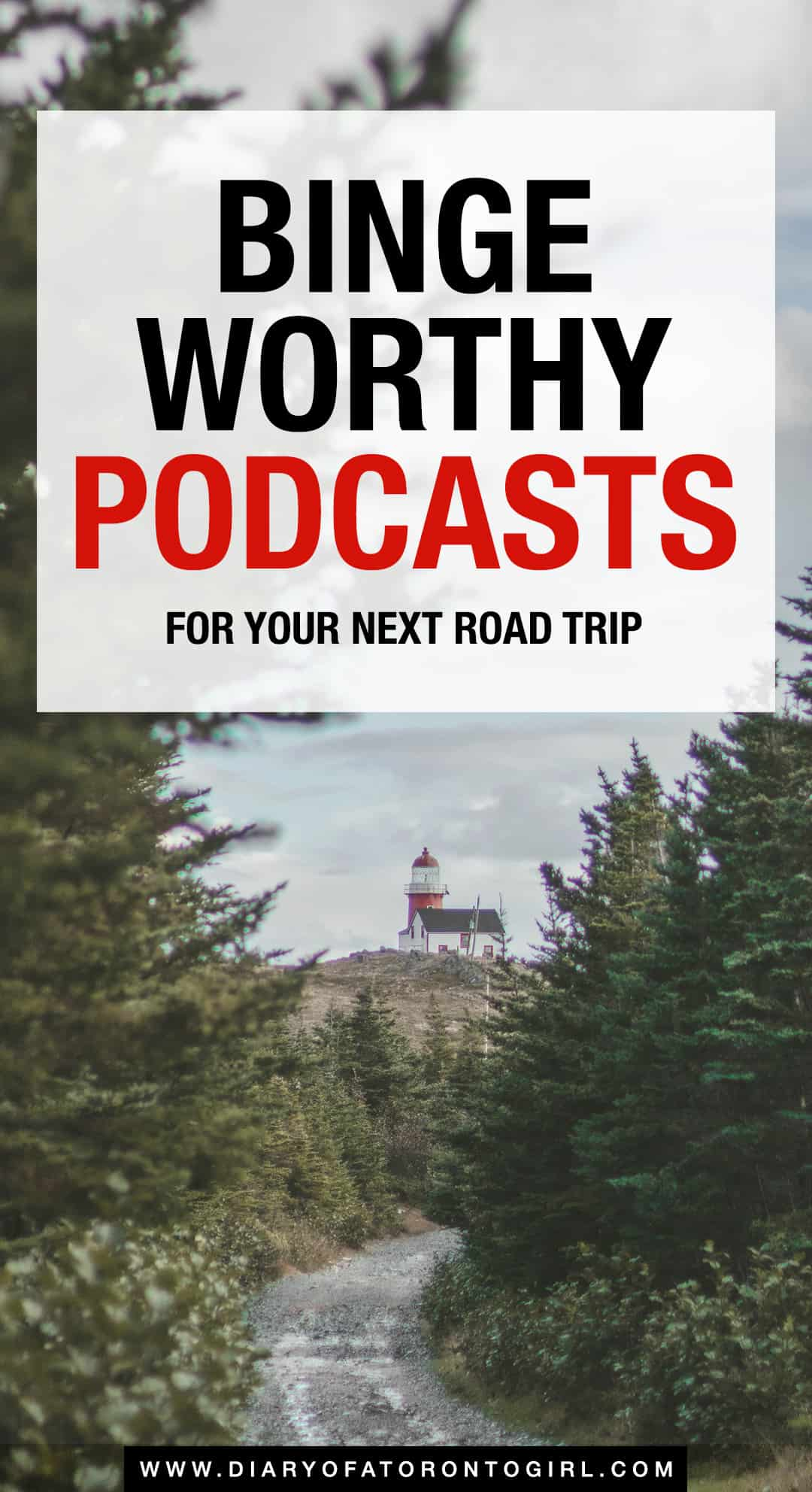 Some of the best podcasts to listen to during your next road trip! Whether you're driving for 2 short hours or 7 long hours, here are binge-worthy podcasts worth listening to make your drive more enjoyable.