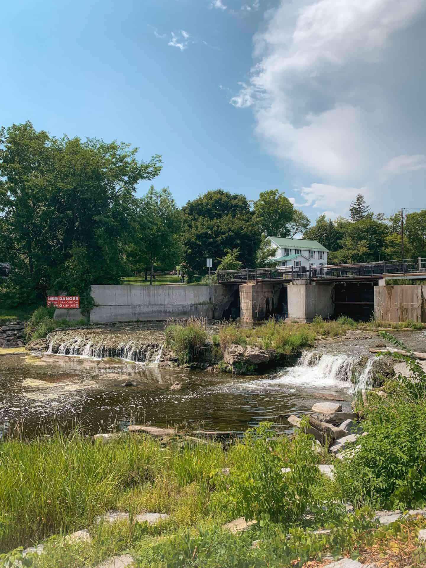 Confederation Park in Gananoque, Ontario