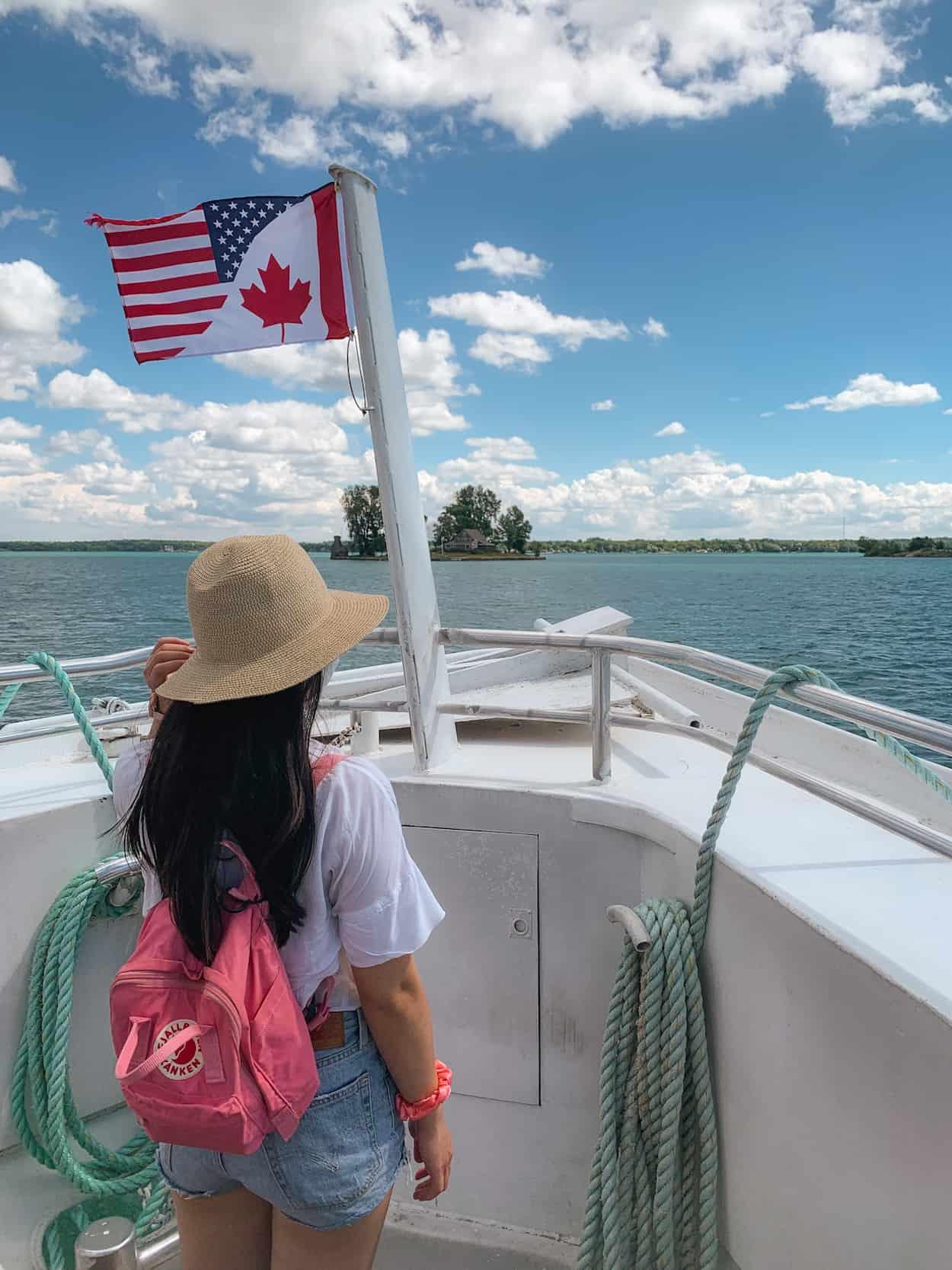 Gananoque Boat Line at the 1000 Islands, Ontario