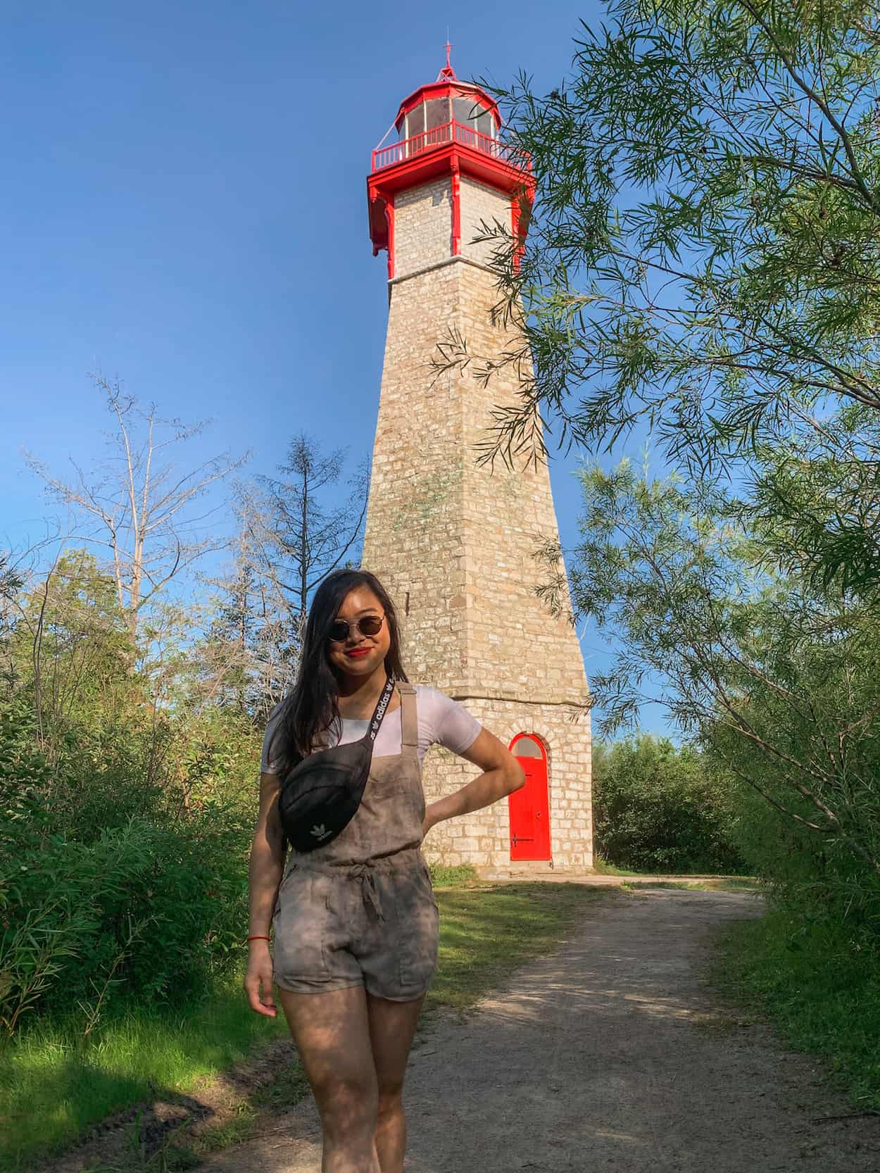 Gibraltar Point Lighthouse at the Toronto Islands