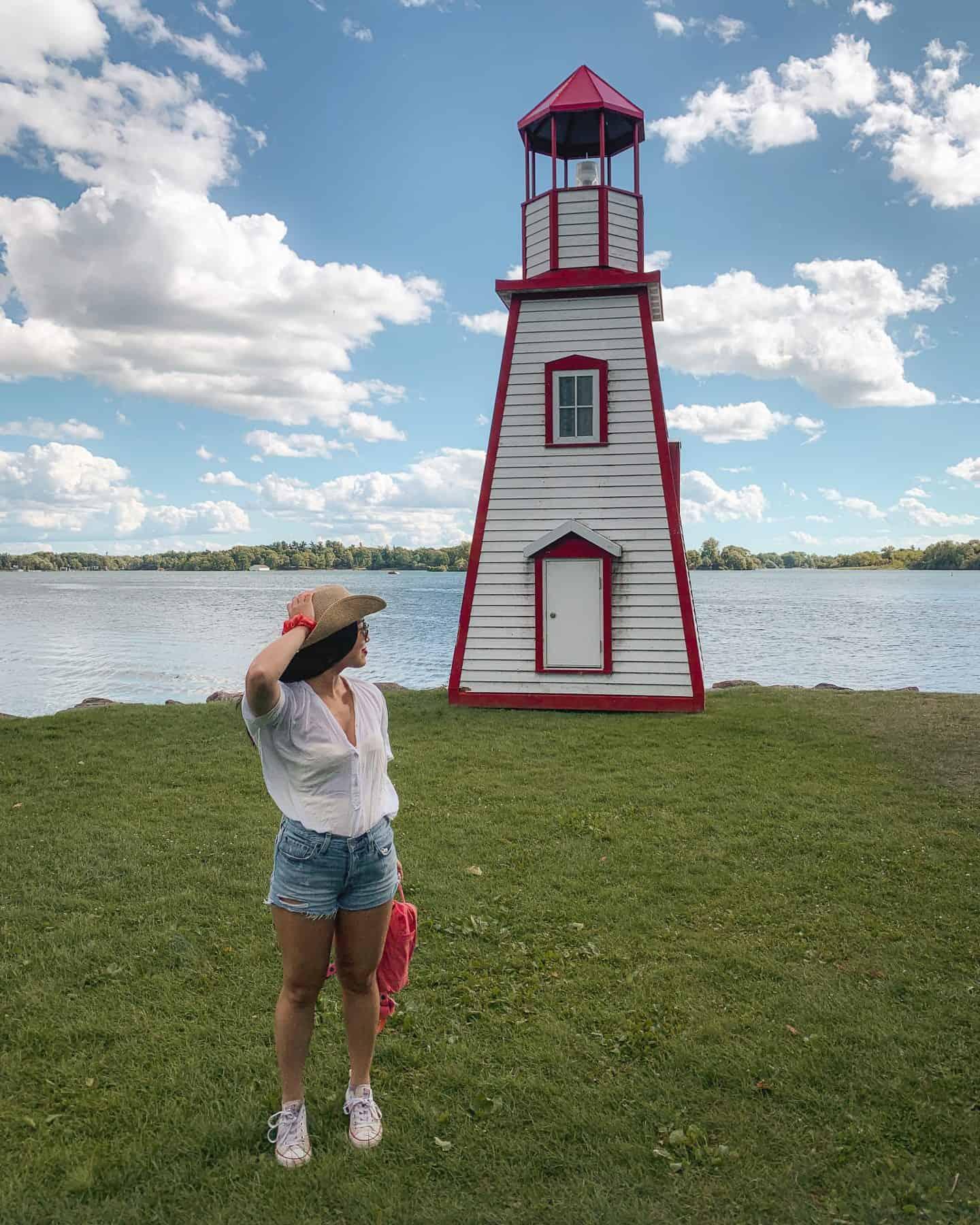 Joel Stone Heritage Park in Gananoque, Ontario