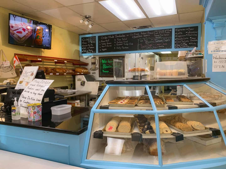 Panache Bakery & Cafe in Gananoque, Ontario