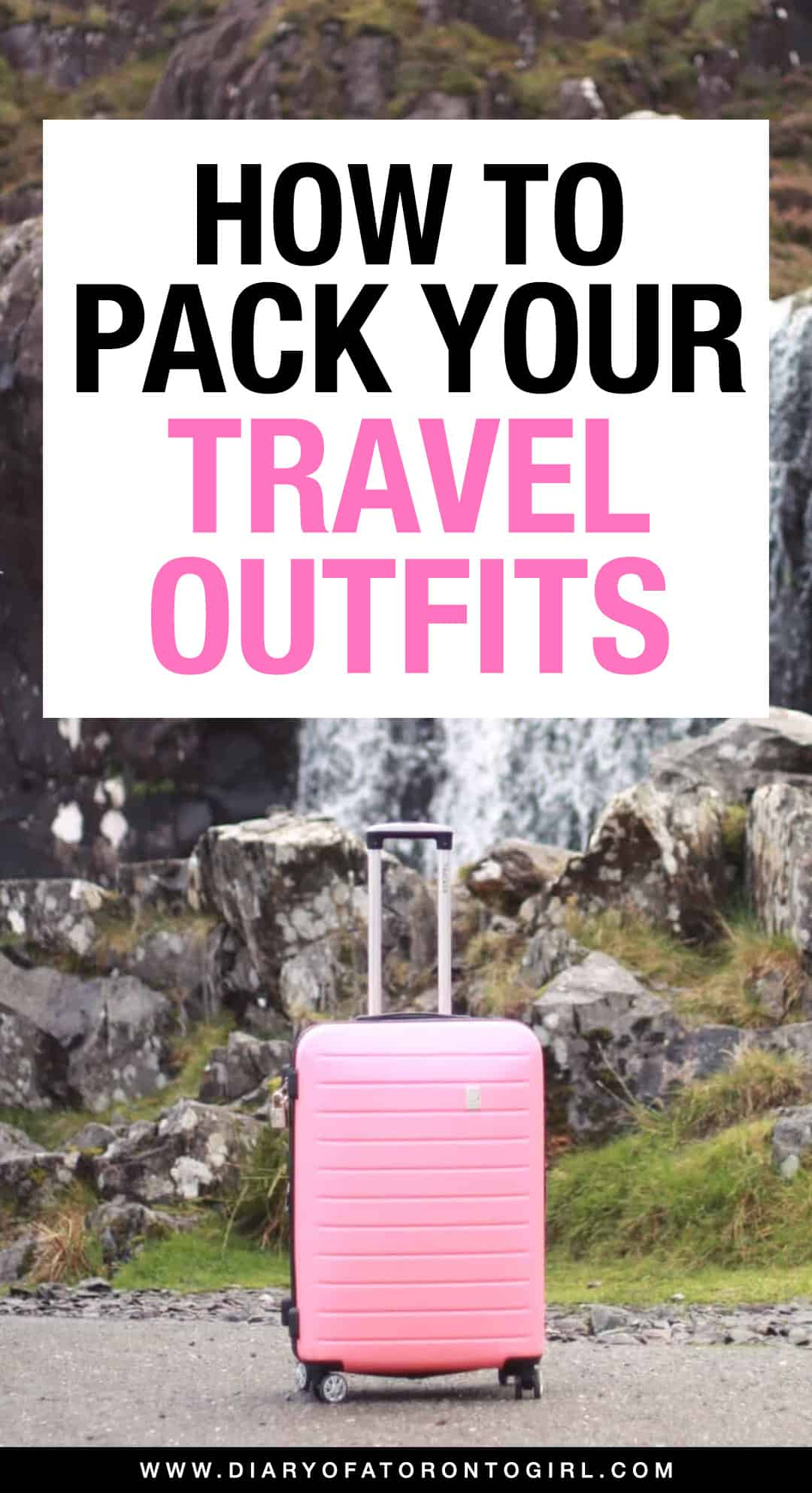 Planning an upcoming vacation? Here's your ultimate guide on how to pack outfits for your trip, including tips for packing and how to put together a capsule travel wardrobe!