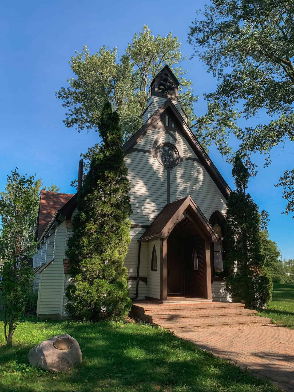 St. Andrew's by the Lake Church on the Toronto Islands