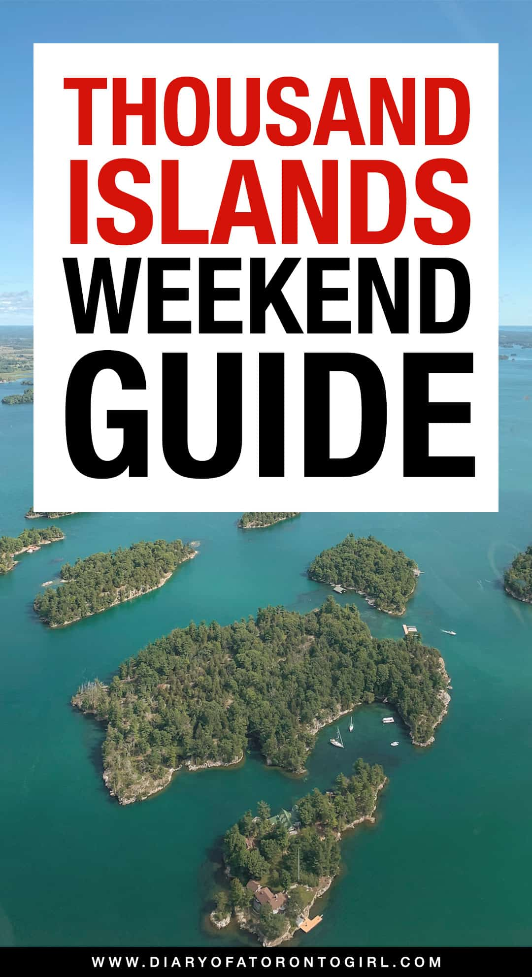 How to spend the ultimate weekend getaway in Gananoque, the Canadian gateway to the 1000 Islands! Here's what to do, where to eat, and where to stay in this picturesque Ontario town.