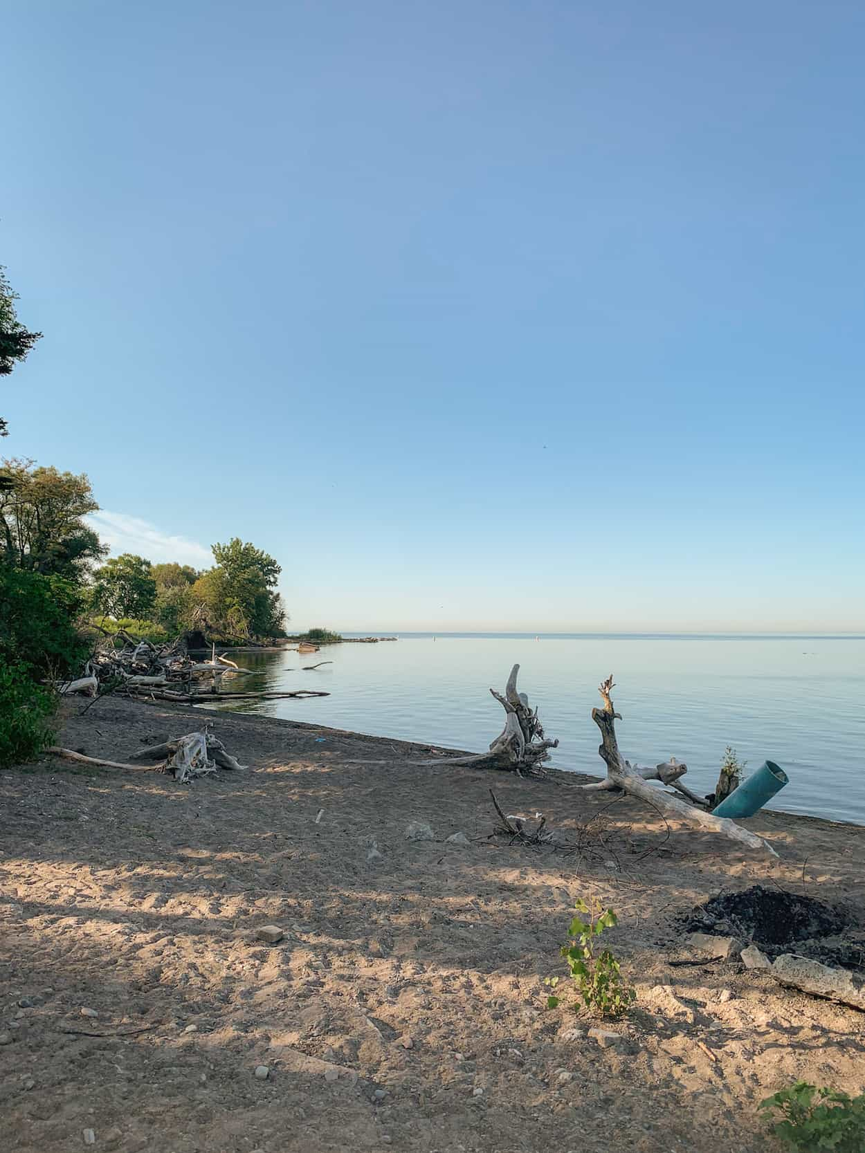Beach at the Toronto Islands