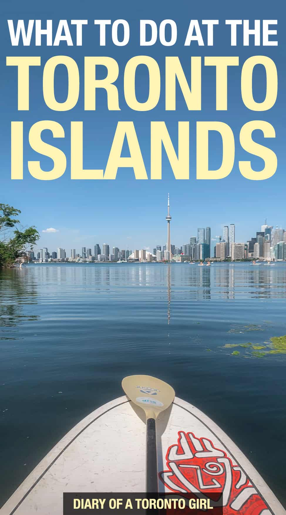 The Toronto Islands is a fun mini getaway you can do right in the heart of downtown Toronto. Just take the short 15 minute ferry over to the islands and enjoy a day trip full of activities! Here's how to spend the perfect day exploring the Toronto Islands.