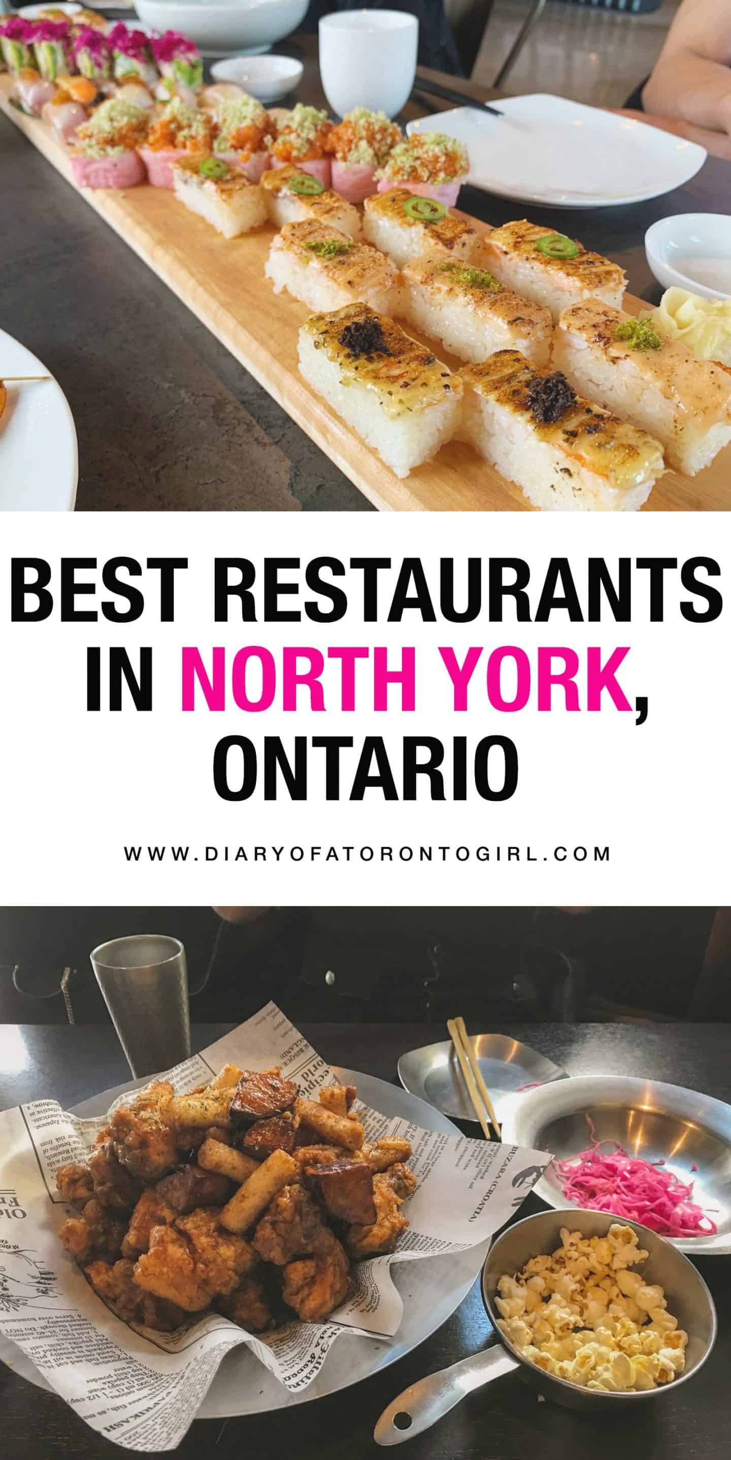 Looking for the top food spots to check out in North York, just north of Toronto? Here are some of the best restaurants and places to eat in North York, Ontario!