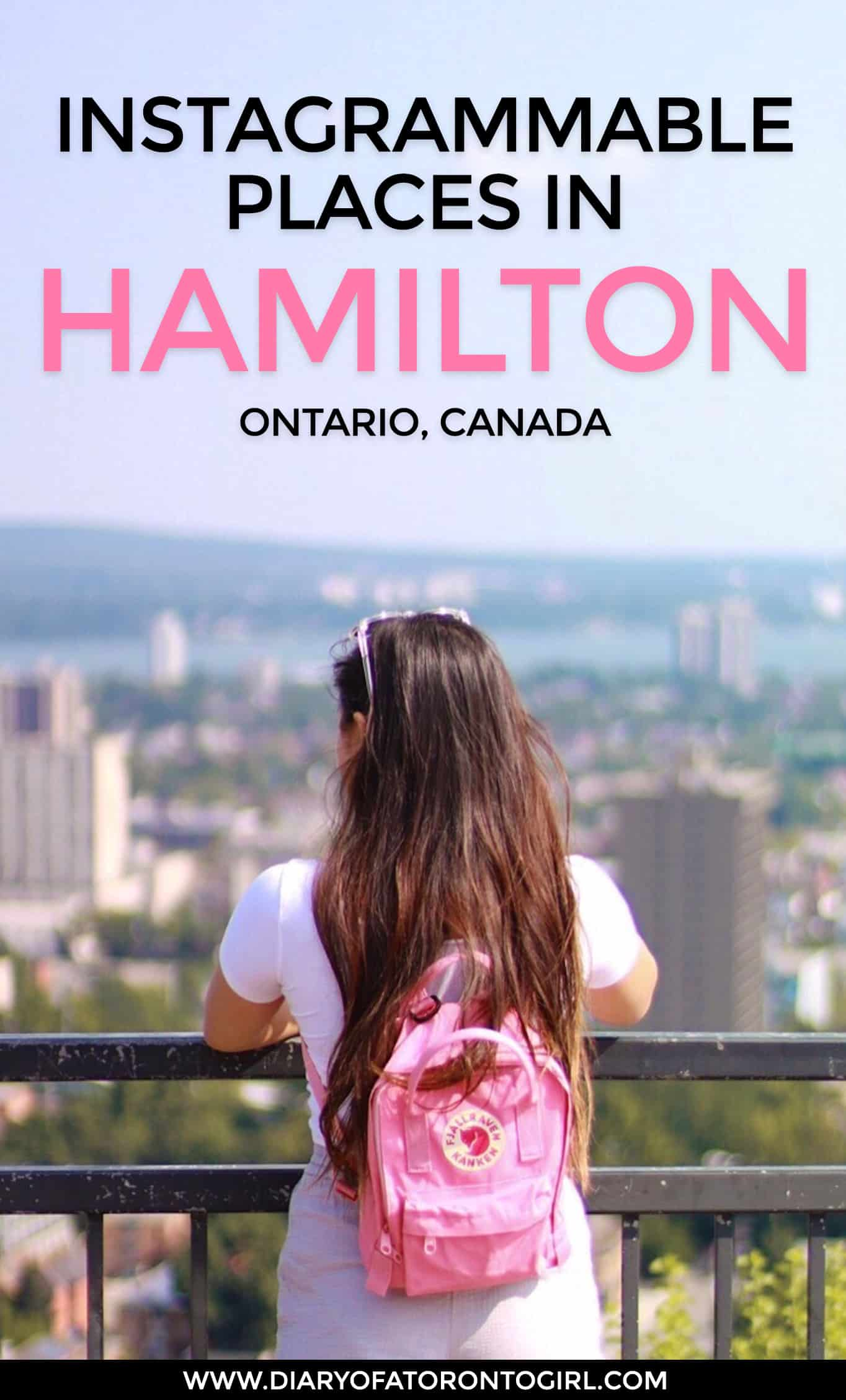 Planning a visit to the waterfall capital of the world here in Canada? Here's your ultimate guide to the prettiest and most Instagrammable spots to visit during your trip to Hamilton, Ontario!
