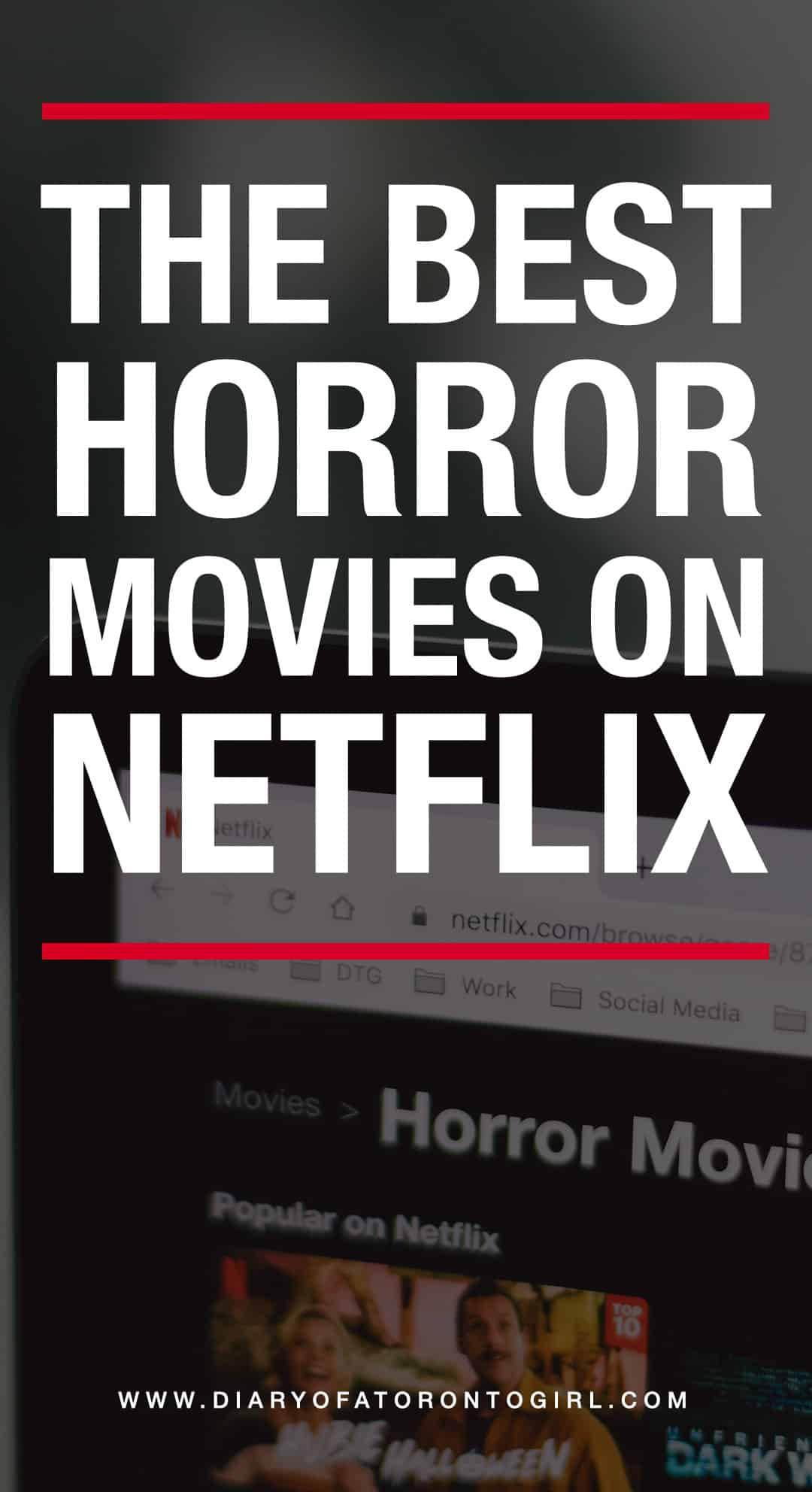 The best horror movies on Netflix Canada to binge-watch, whether you're into intense psychological horrors or supernatural films!
