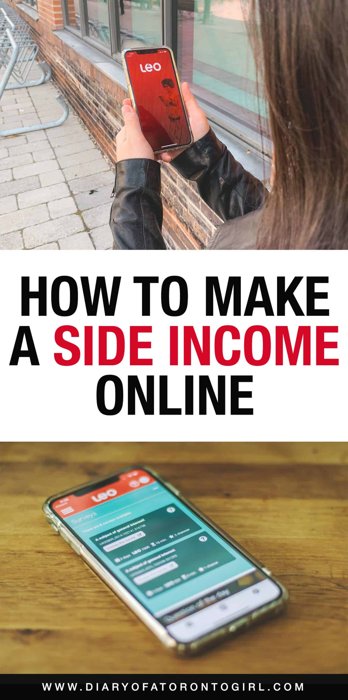 Looking for ways to make extra income through the internet? Here are ways to make a side income online in Canada, to help you get a little extra cash in your pocket for your savings and future!