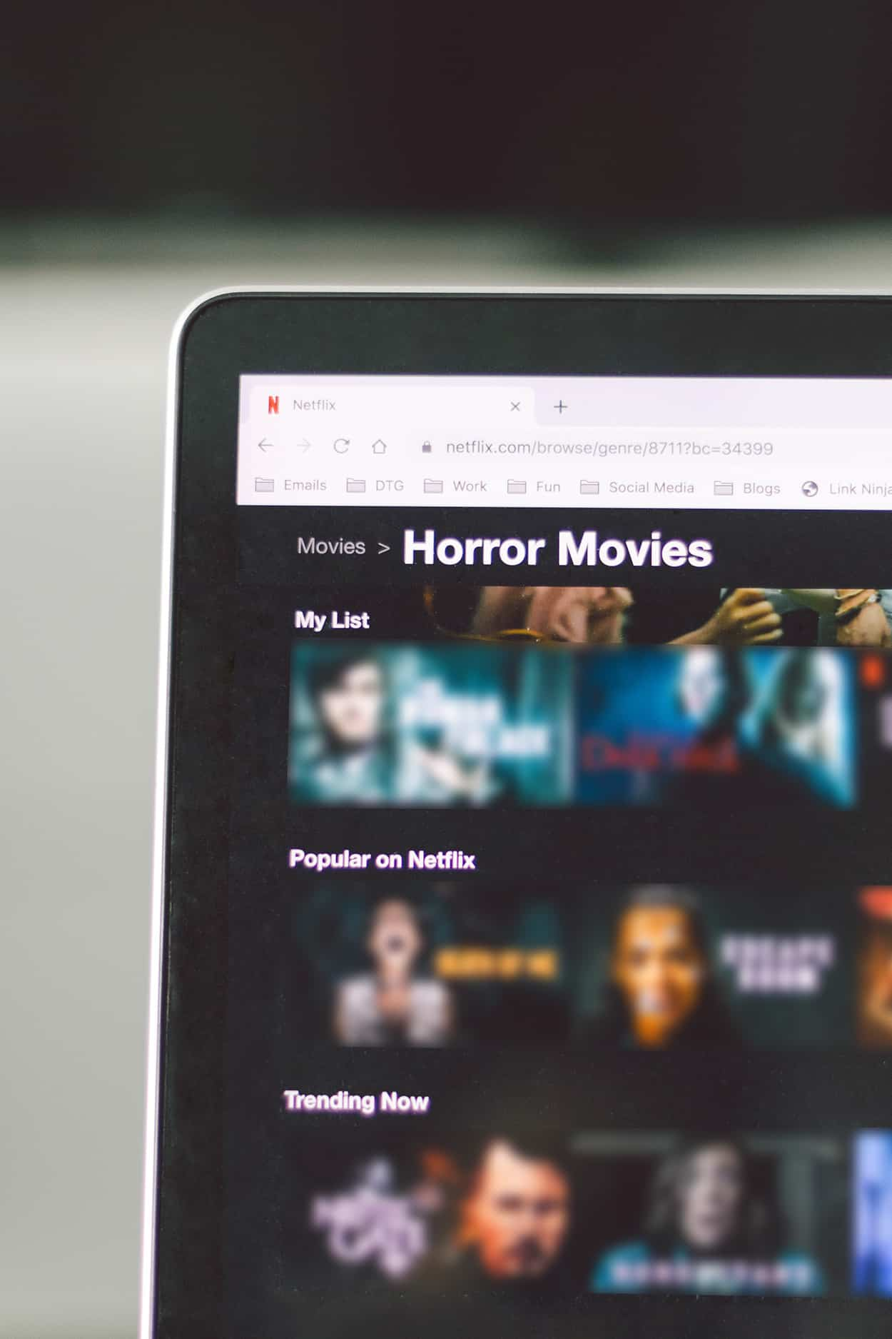 Horror movies on Netflix Canada