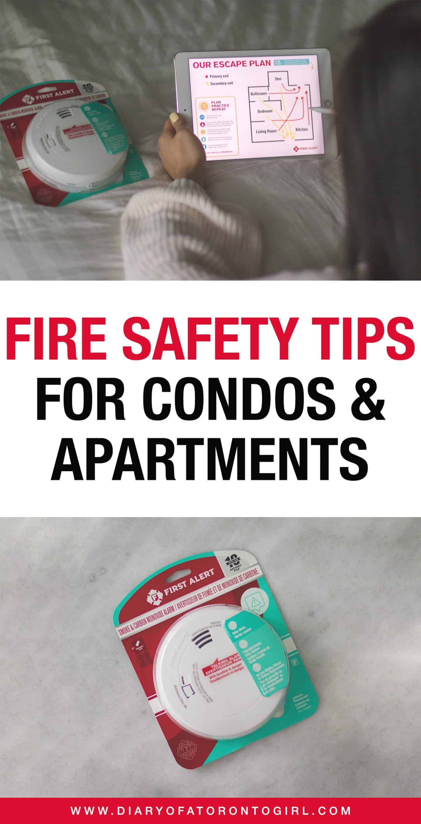 Living in a condo or apartment? Here are fire safety tips to help keep you and your family safe at home!