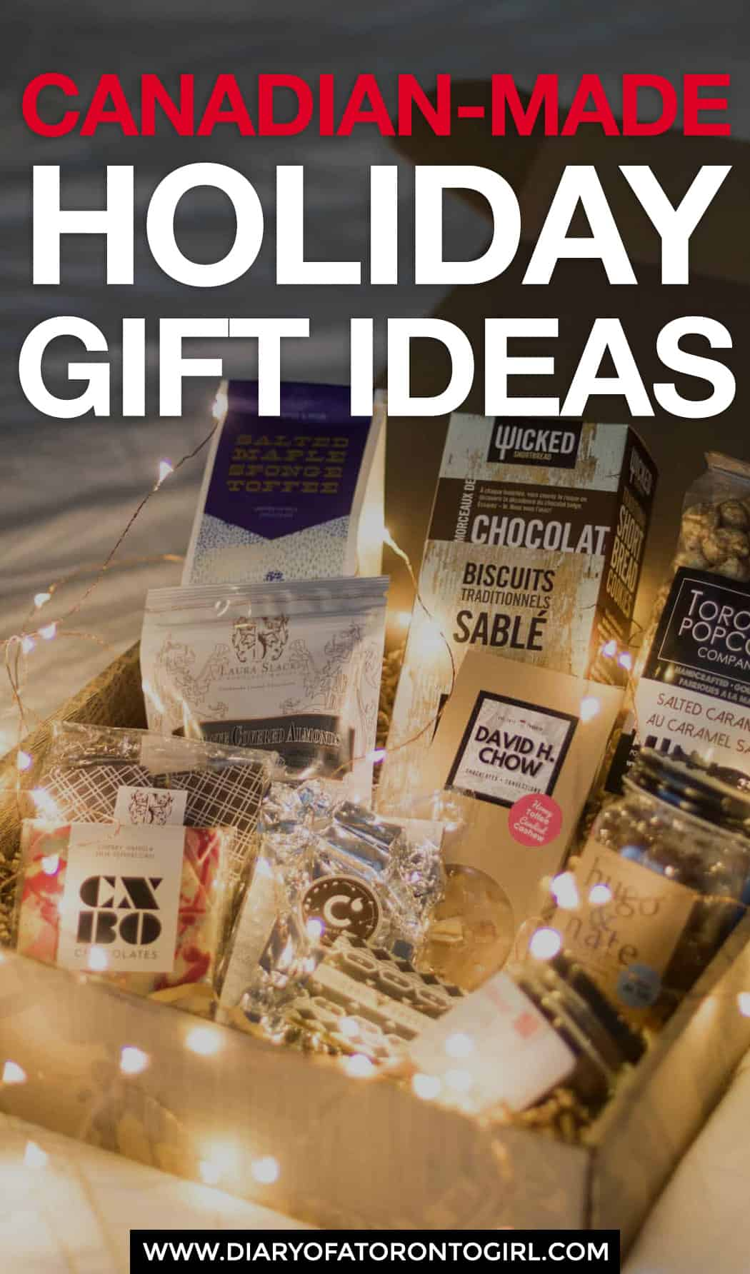 Canadian-made holiday gift ideas to shop for your friends and loved ones, so you can feel good supporting local while shopping for gifts!