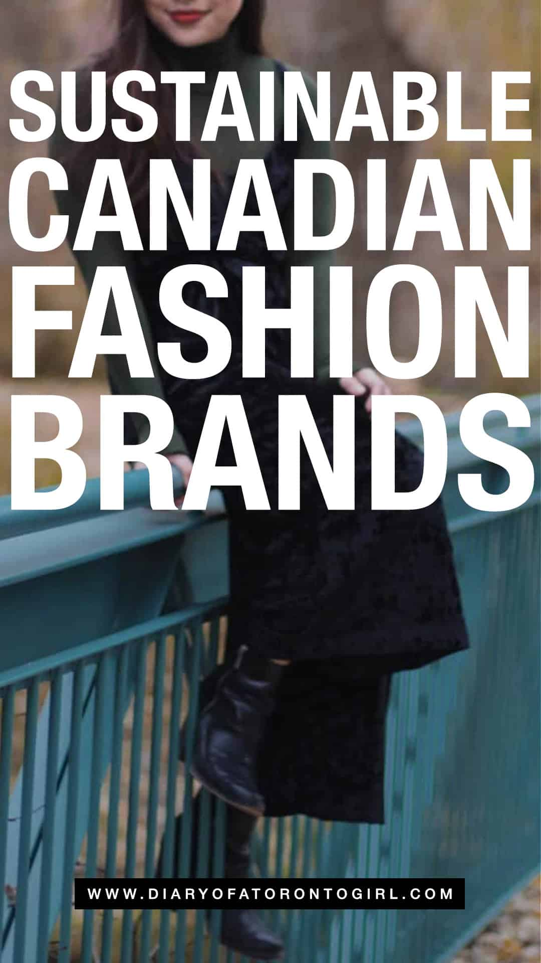 Sustainable Canadian clothing and fashion brands to shop in Canada if you're looking to purchase ethical and eco-friendly!