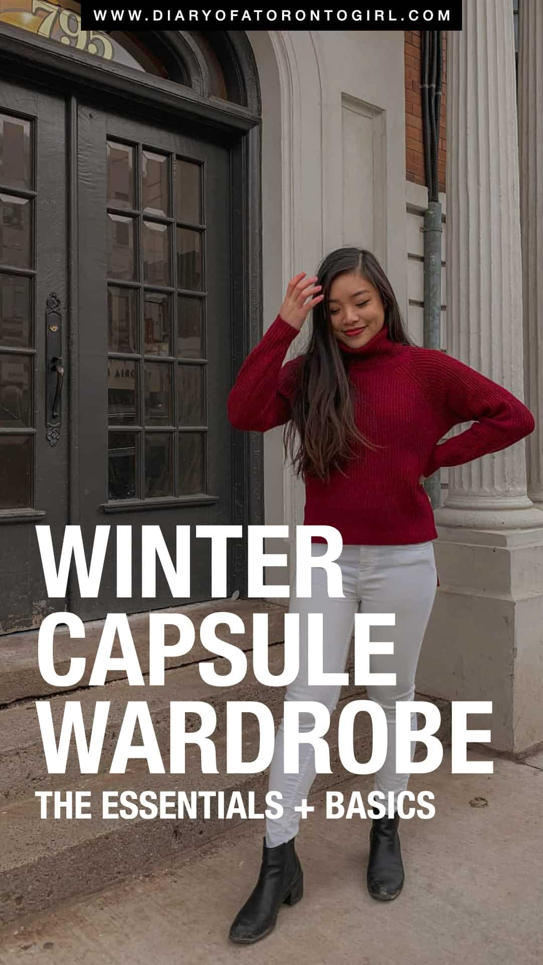 Winter capsule wardrobe essentials you absolutely must have in your closet, especially for Canadian weather. These capsule pieces are timeless for your wardrobe!
