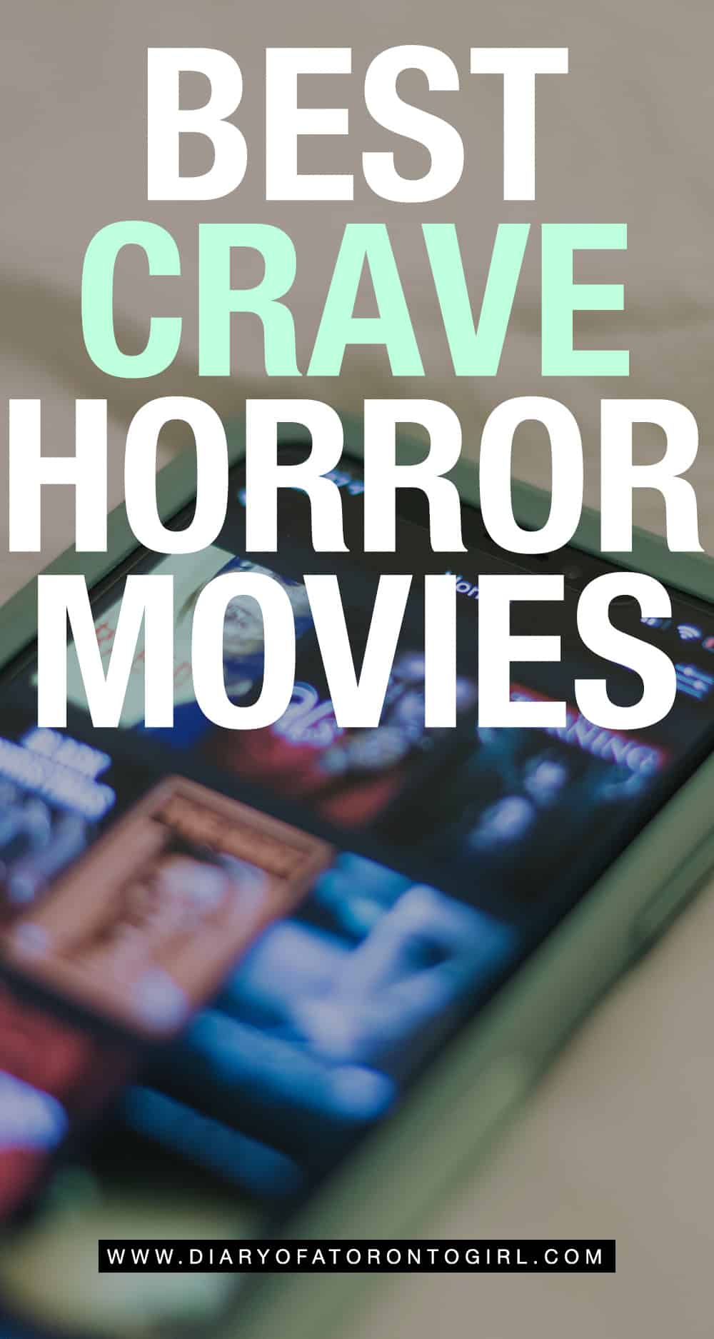 The best horror and thriller movies on Crave Canada to binge-watch if you're a fan of slasher films and creepy horrors!