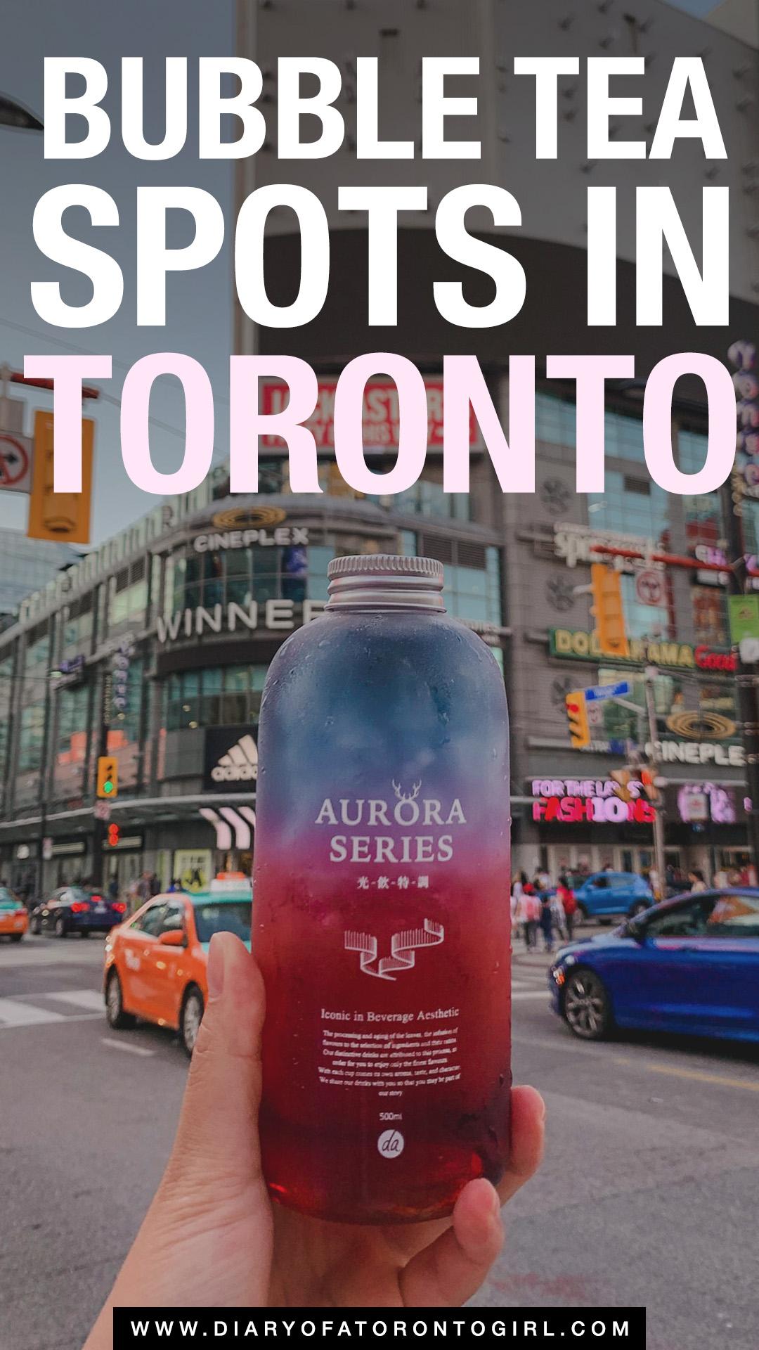Best bubble tea in Toronto