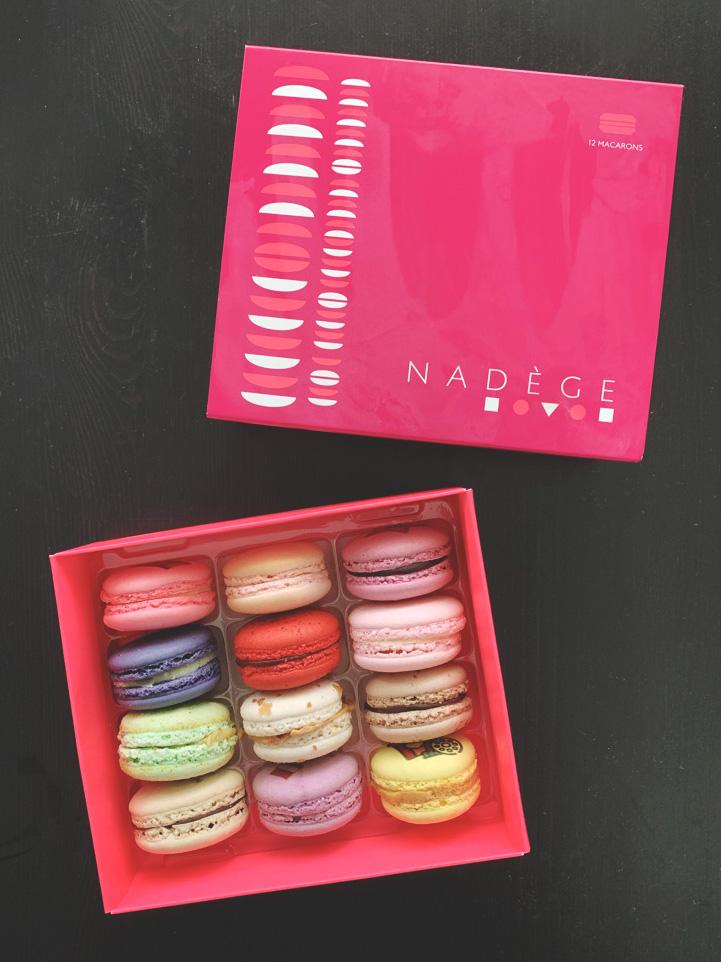 Macarons from Nadege Patisserie in Toronto