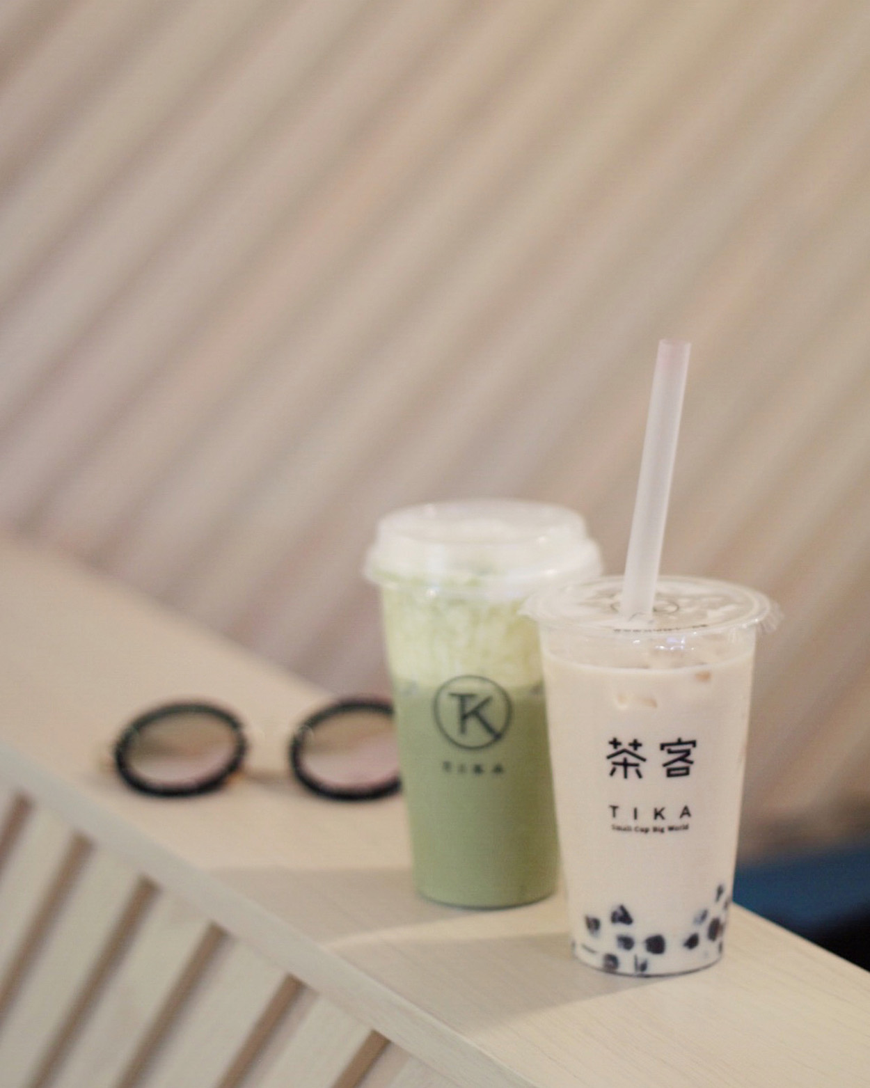 Bubble tea at Tika Tea House in Toronto