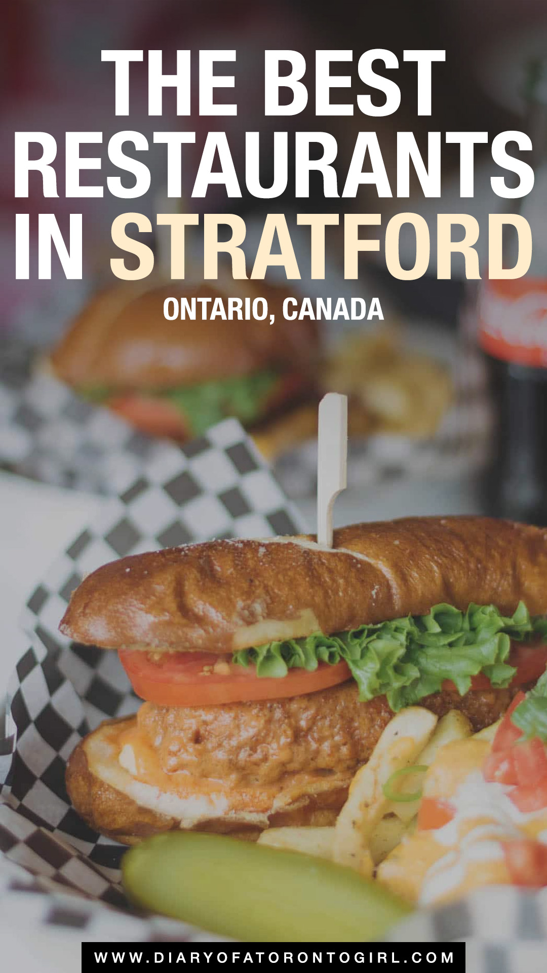 The best Stratford restaurants you absolutely need to visit during your trip, including casual food places and fine dining restaurants!